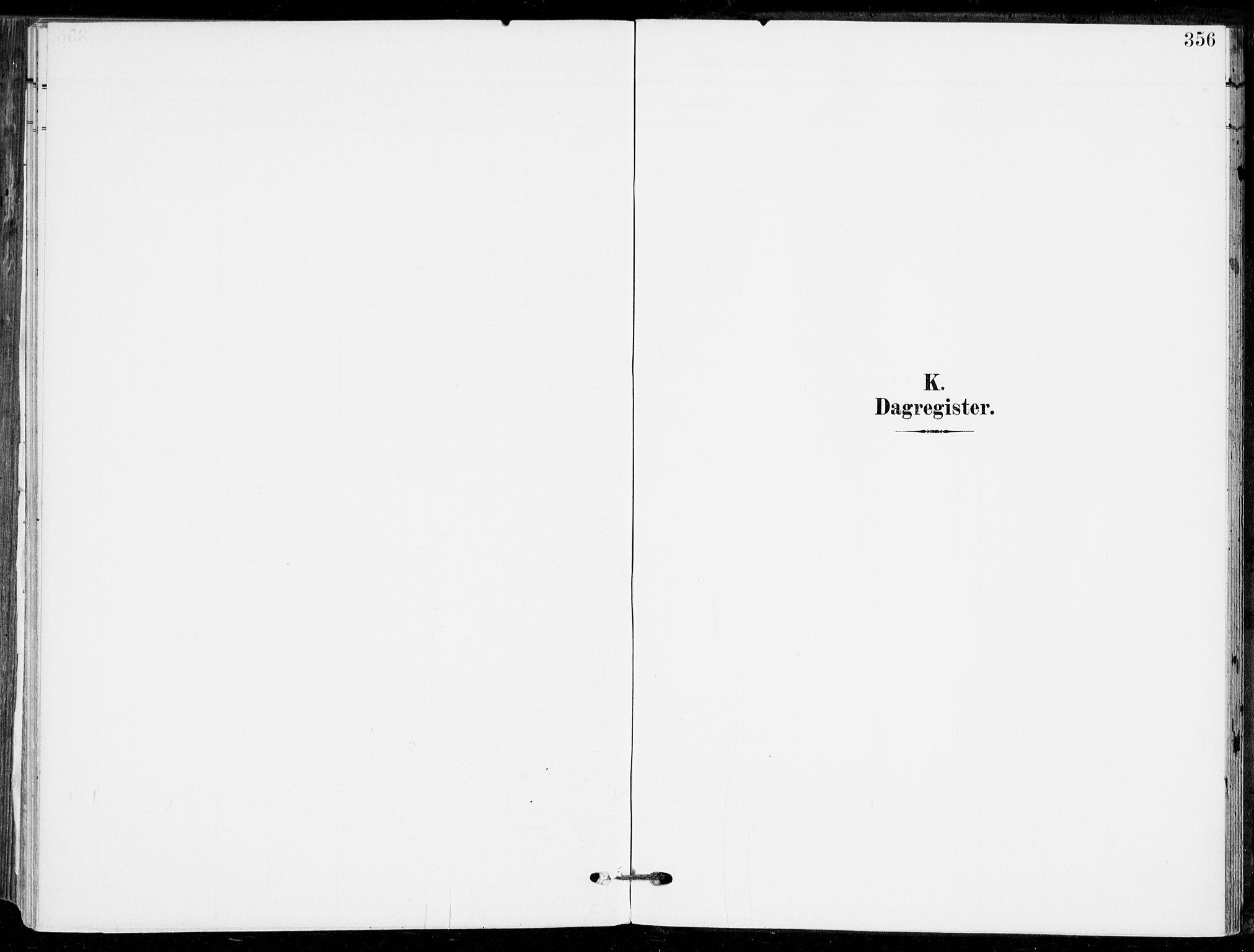 SAKO, Sande Kirkebøker, F/Fa/L0008: Ministerialbok nr. 8, 1904-1921, s. 356