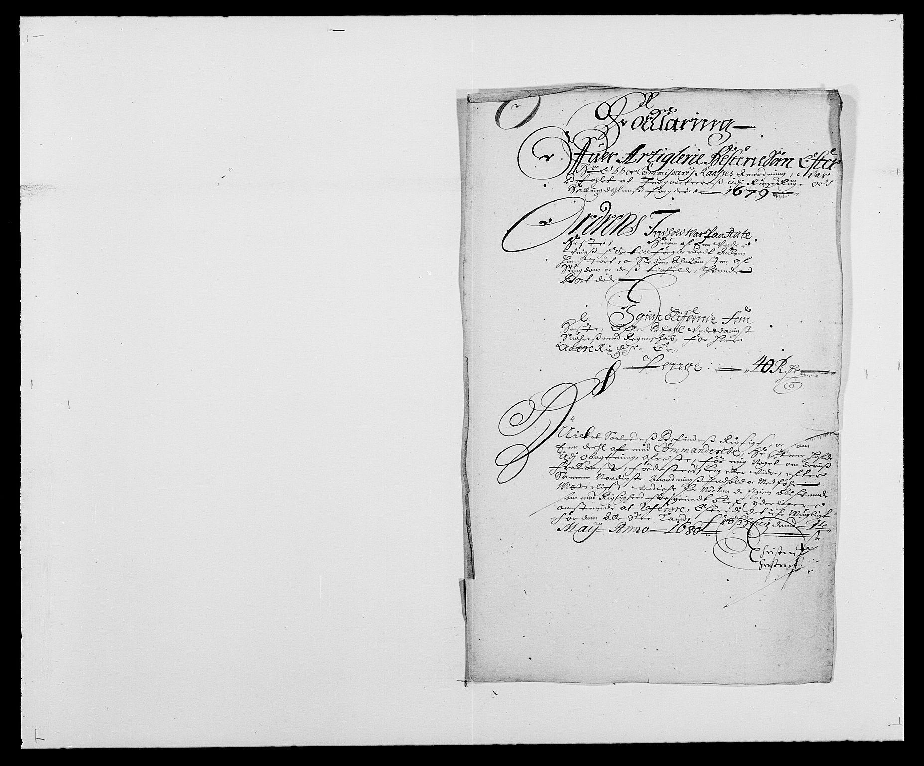 RA, Rentekammeret inntil 1814, Reviderte regnskaper, Fogderegnskap, R21/L1443: Fogderegnskap Ringerike og Hallingdal, 1678-1680, s. 242