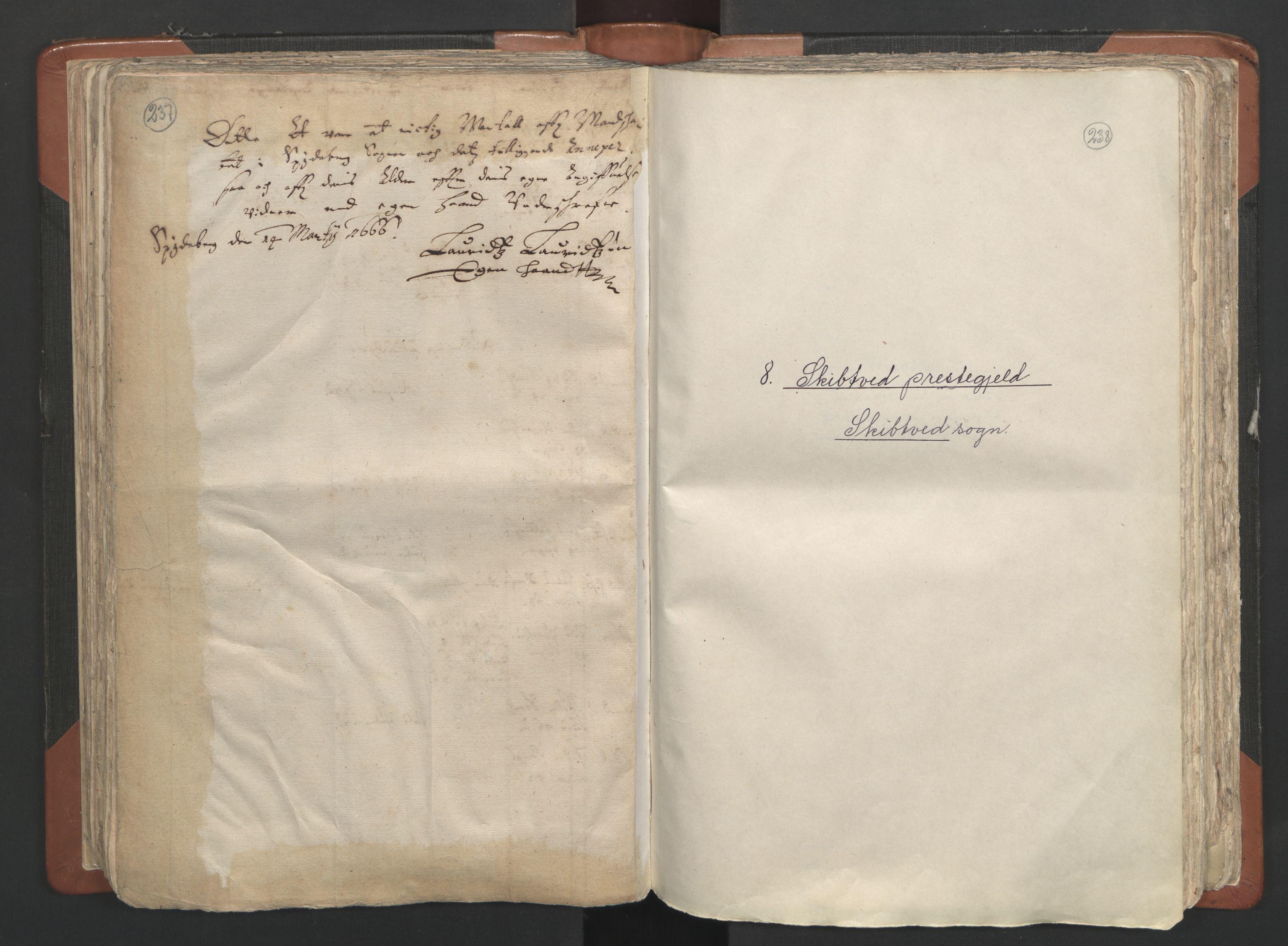 RA, Sogneprestenes manntall 1664-1666, nr. 2: Øvre Borgesyssel prosti, 1664-1666, s. 237-238