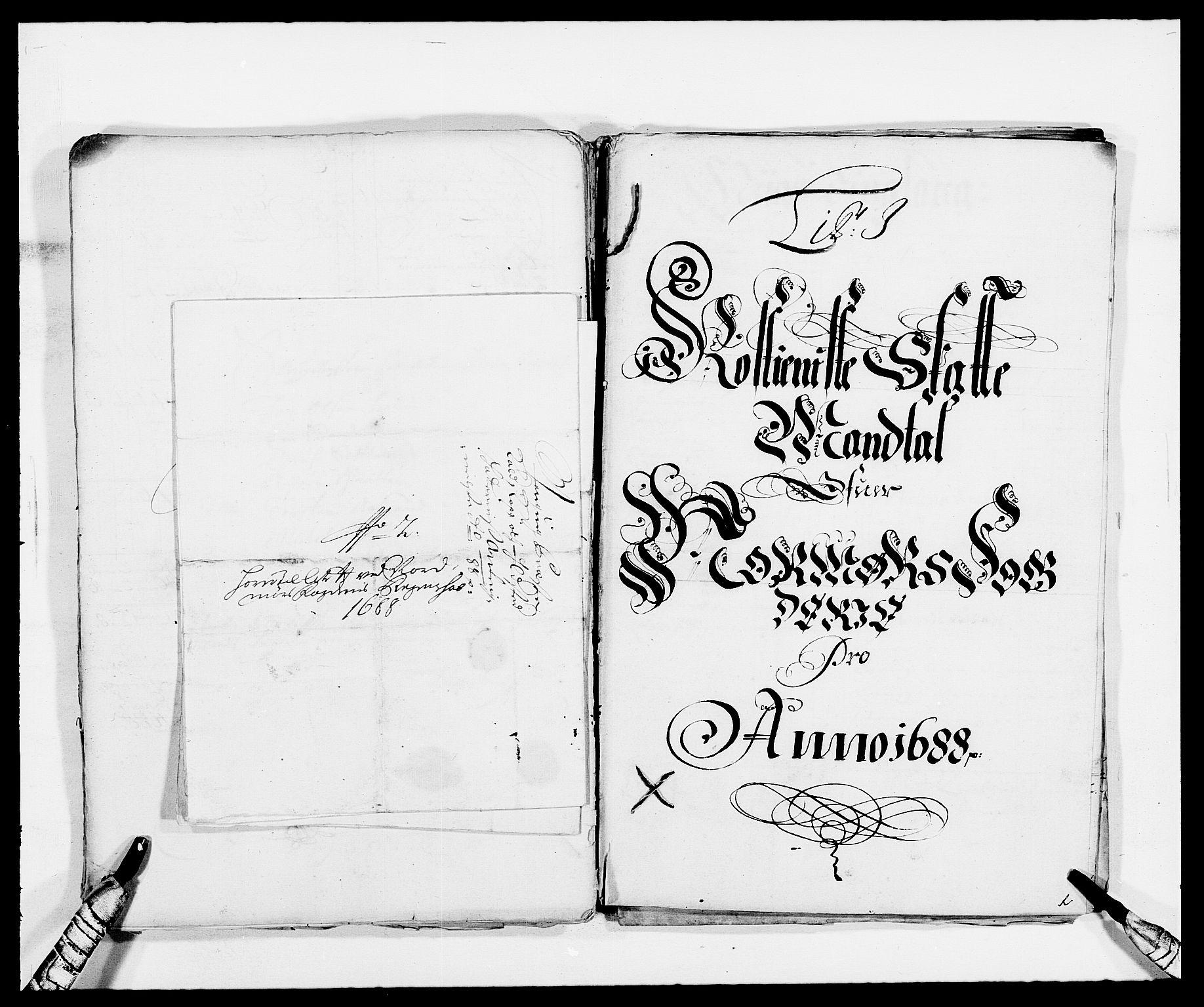 RA, Rentekammeret inntil 1814, Reviderte regnskaper, Fogderegnskap, R56/L3733: Fogderegnskap Nordmøre, 1687-1689, s. 269