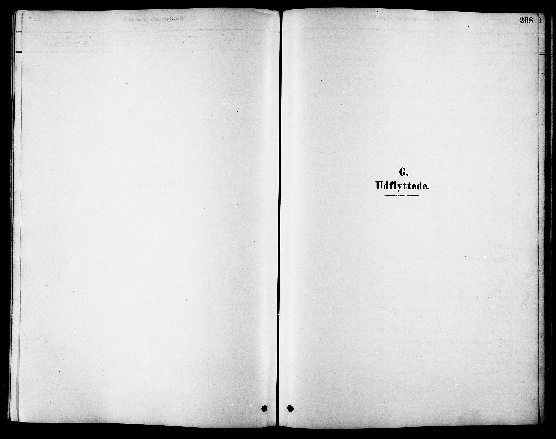 SAT, Ministerialprotokoller, klokkerbøker og fødselsregistre - Sør-Trøndelag, 616/L0423: Klokkerbok nr. 616C06, 1878-1903, s. 268