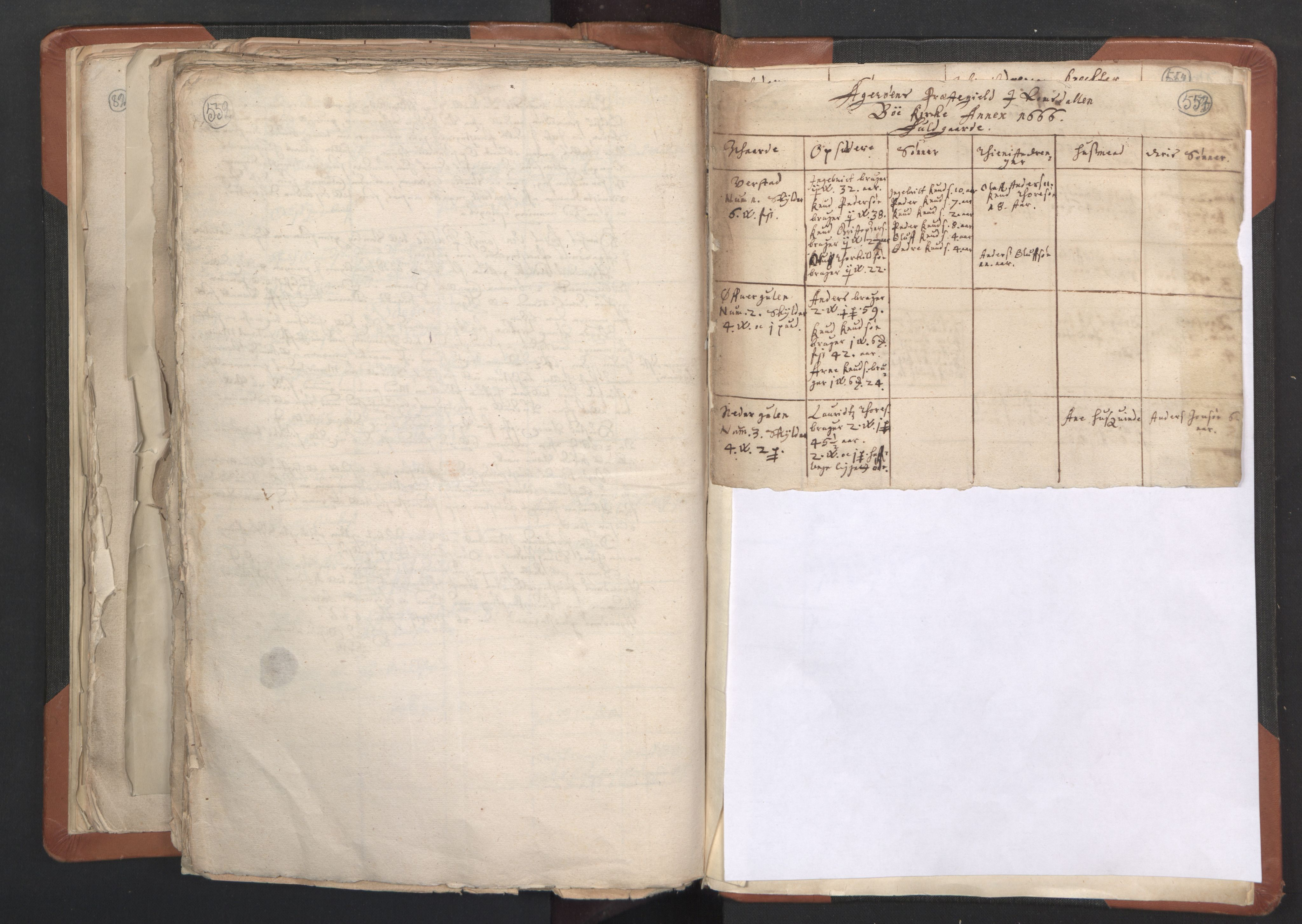 RA, Sogneprestenes manntall 1664-1666, nr. 27: Romsdal prosti, 1664-1666, s. 552-553