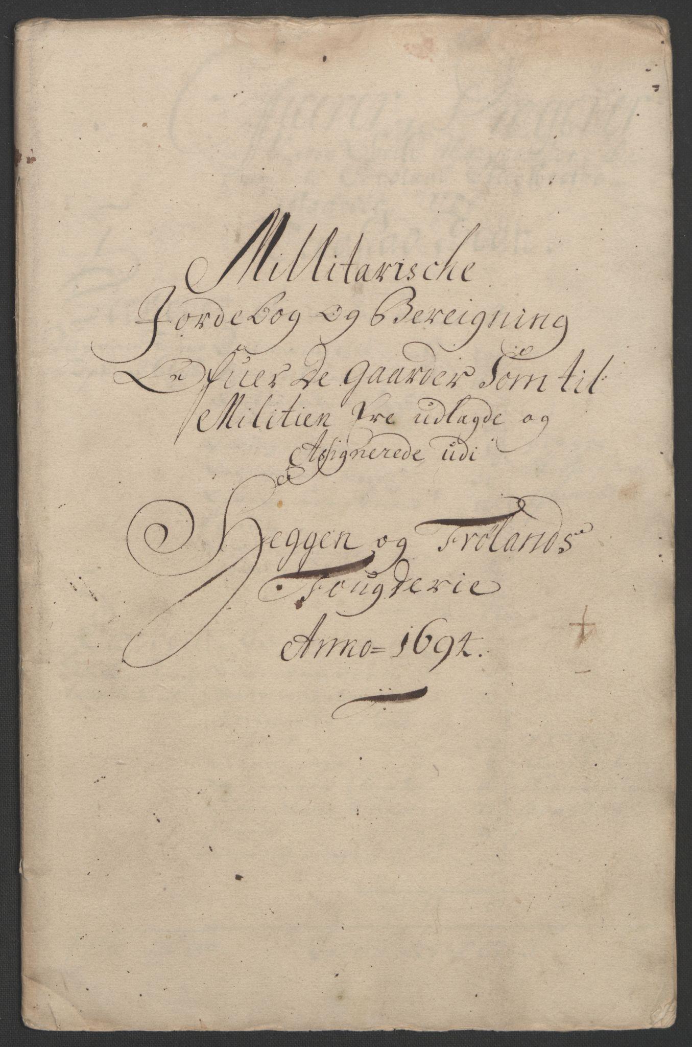 RA, Rentekammeret inntil 1814, Reviderte regnskaper, Fogderegnskap, R07/L0284: Fogderegnskap Rakkestad, Heggen og Frøland, 1694, s. 278