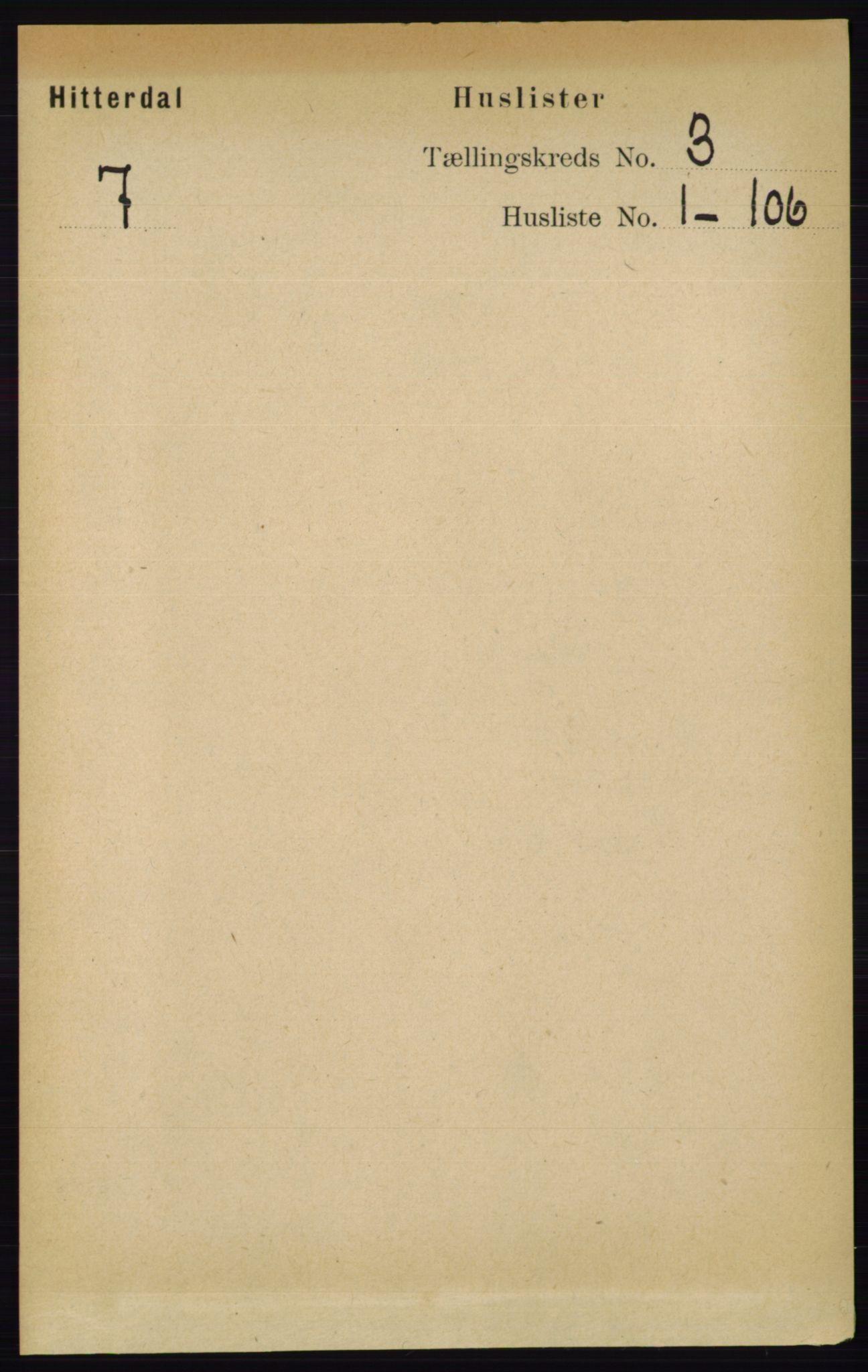 RA, Folketelling 1891 for 0823 Heddal herred, 1891, s. 888