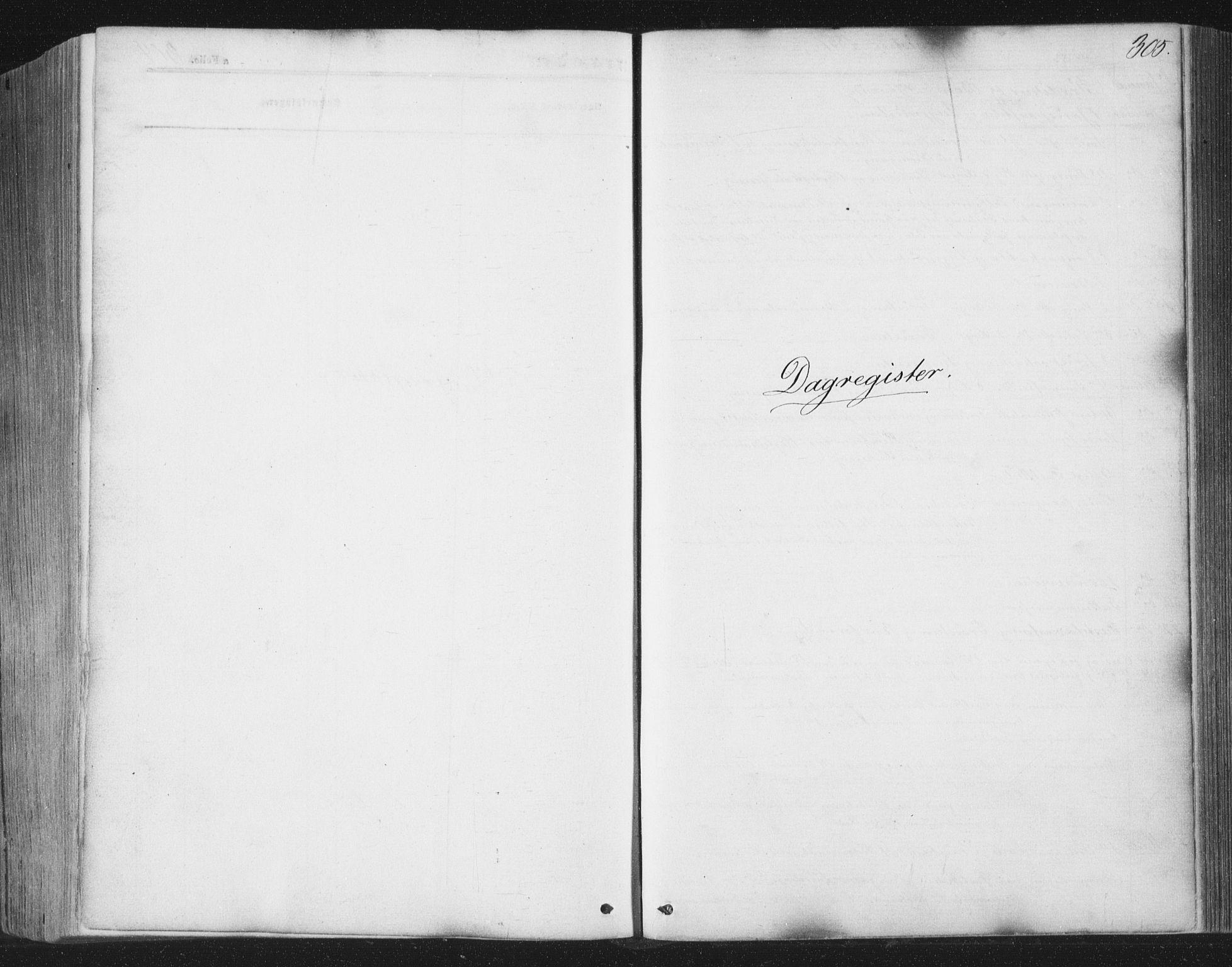 SAT, Ministerialprotokoller, klokkerbøker og fødselsregistre - Nord-Trøndelag, 749/L0472: Ministerialbok nr. 749A06, 1857-1873, s. 305