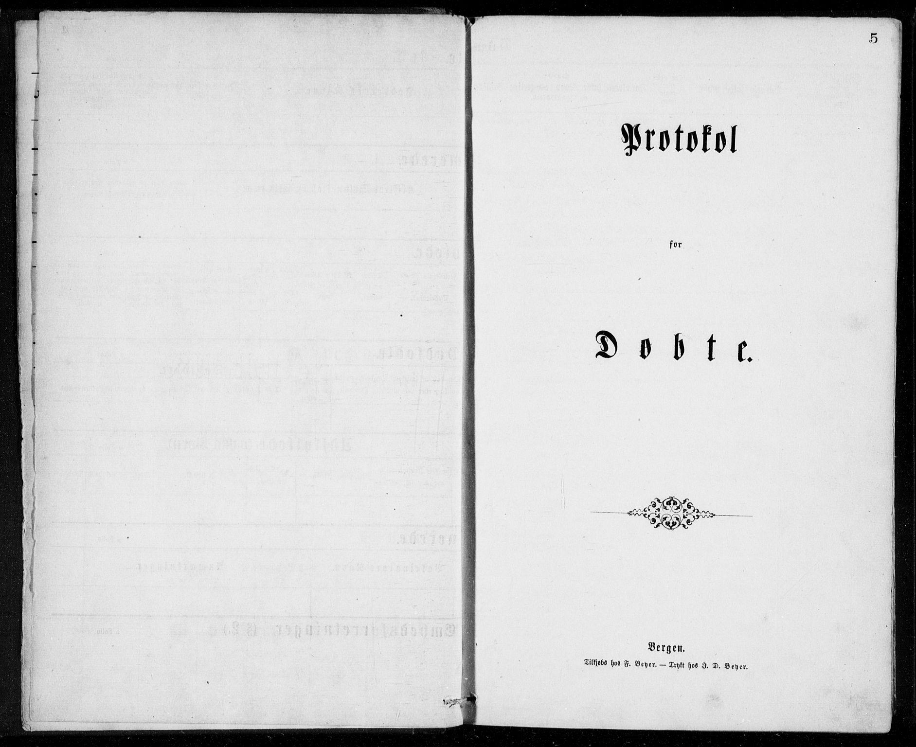 SAB, Herdla Sokneprestembete, H/Haa: Ministerialbok nr. A 2, 1869-1877, s. 5