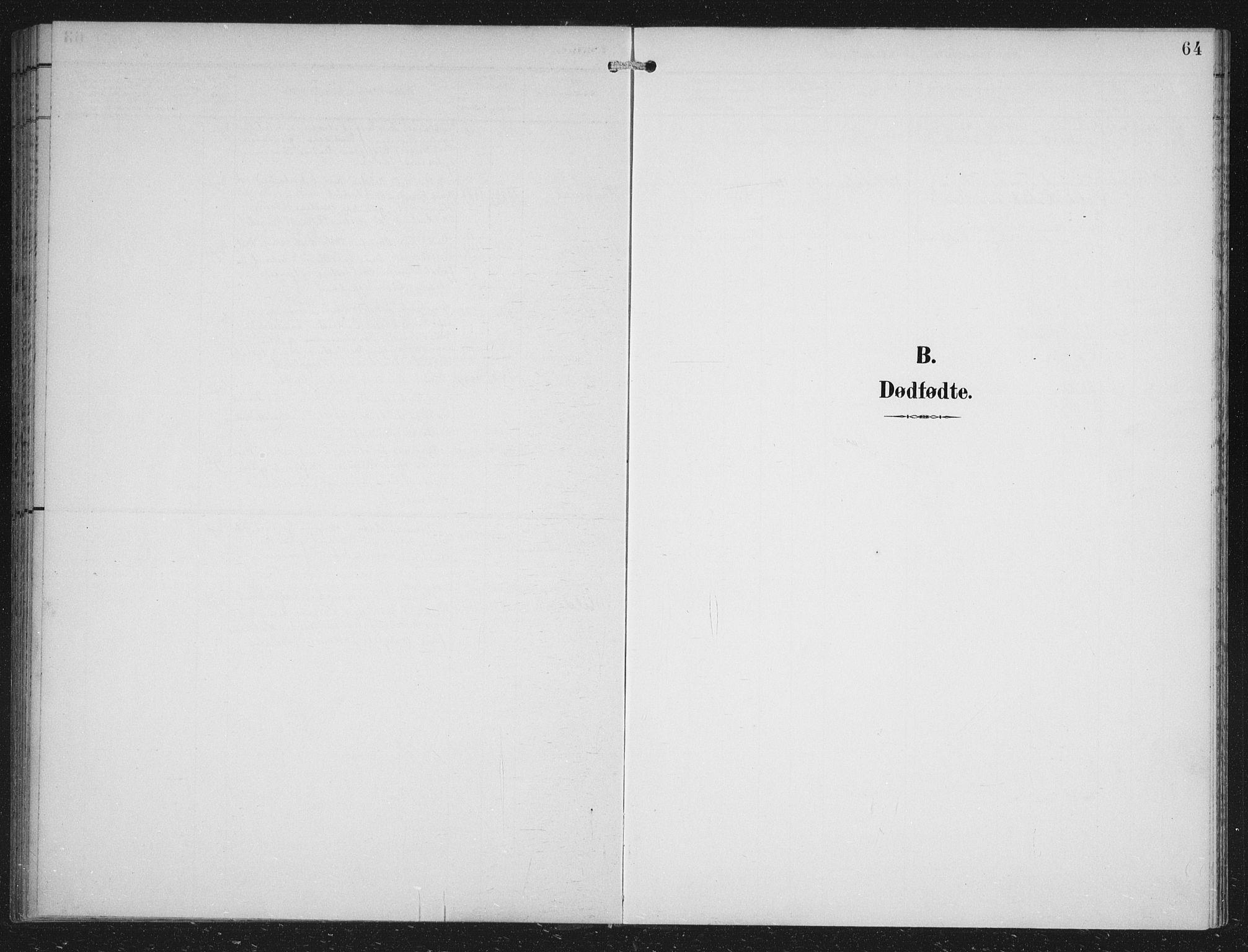 SAB, Fana Sokneprestembete, H/Hab/Haba/L0003: Klokkerbok nr. A 3, 1895-1902, s. 64