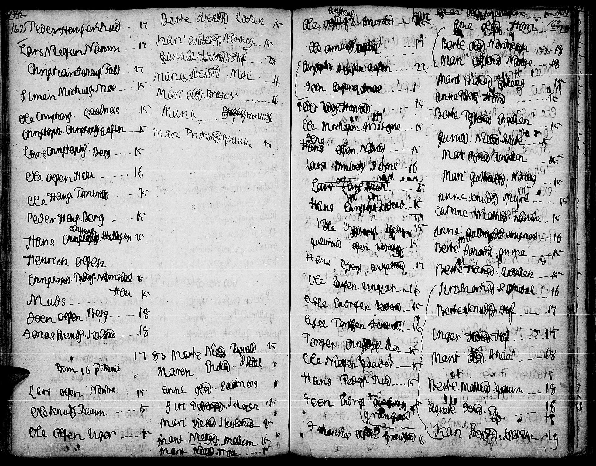 SAH, Land prestekontor, Ministerialbok nr. 5, 1765-1784, s. 162-163