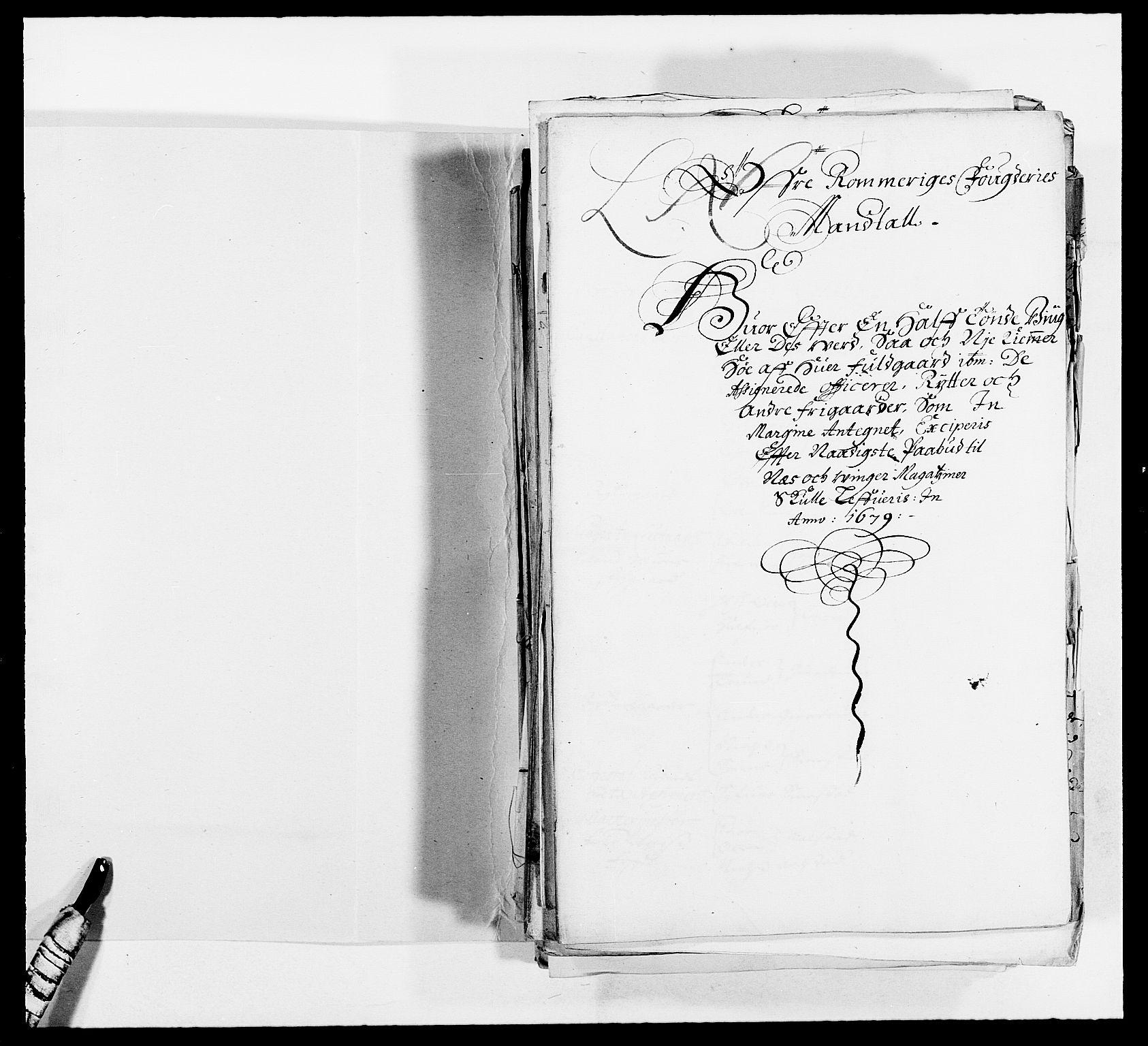 RA, Rentekammeret inntil 1814, Reviderte regnskaper, Fogderegnskap, R12/L0694: Fogderegnskap Øvre Romerike, 1678-1679, s. 2