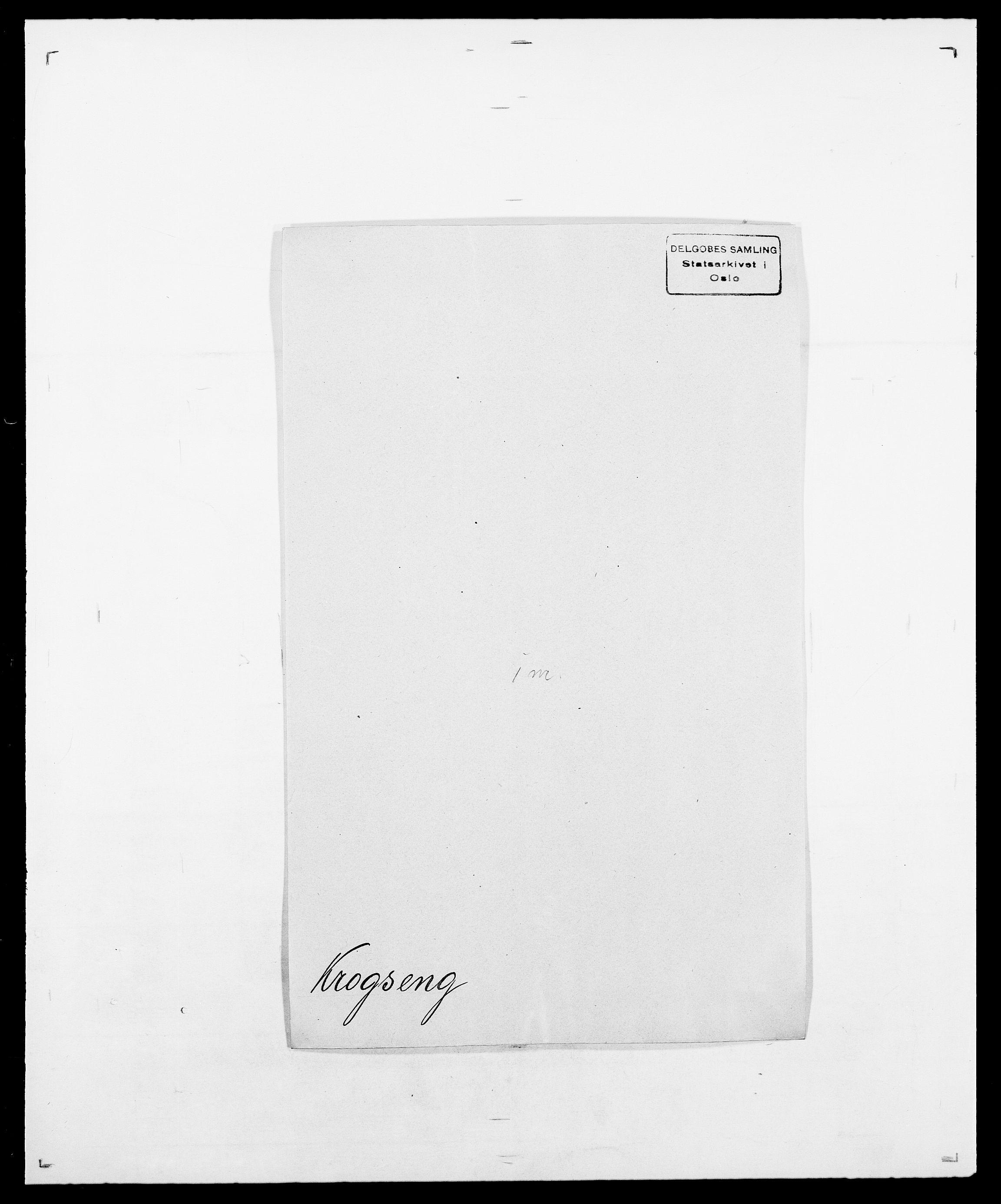 SAO, Delgobe, Charles Antoine - samling, D/Da/L0022: Krog - Lasteen, s. 65