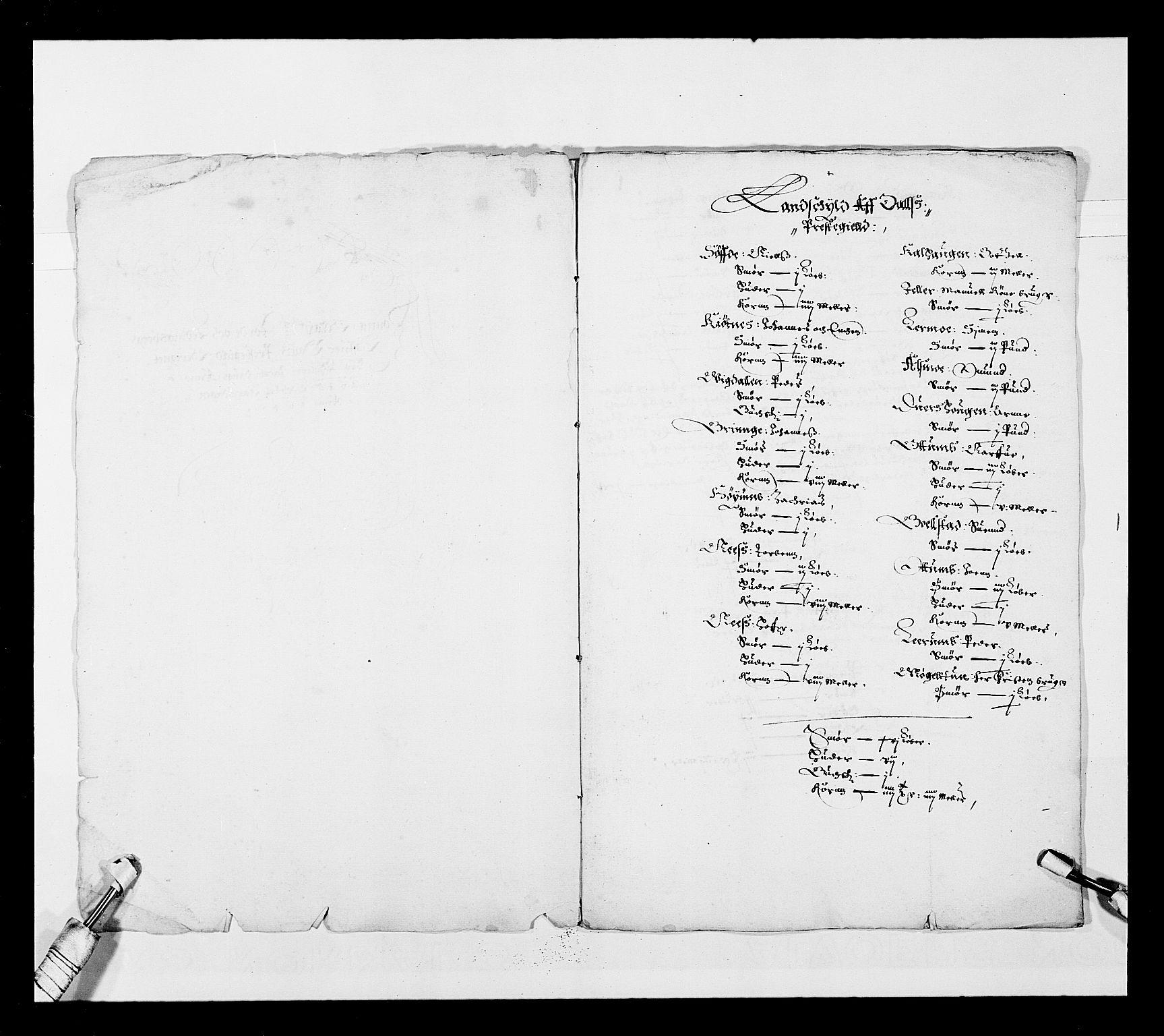 RA, Stattholderembetet 1572-1771, Ek/L0025: Jordebøker 1633-1658:, 1645-1646, s. 142