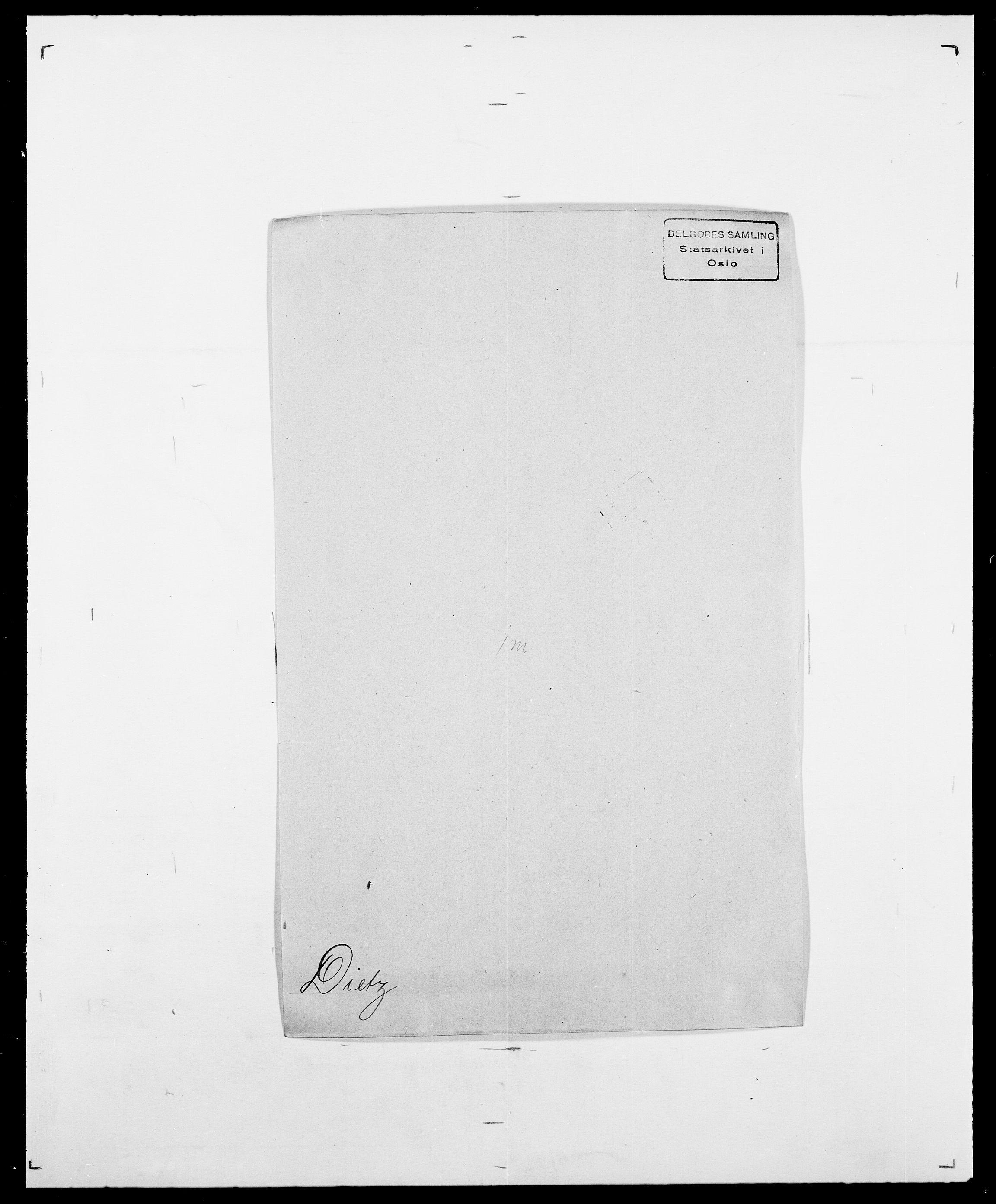 SAO, Delgobe, Charles Antoine - samling, D/Da/L0009: Dahl - v. Düren, s. 566