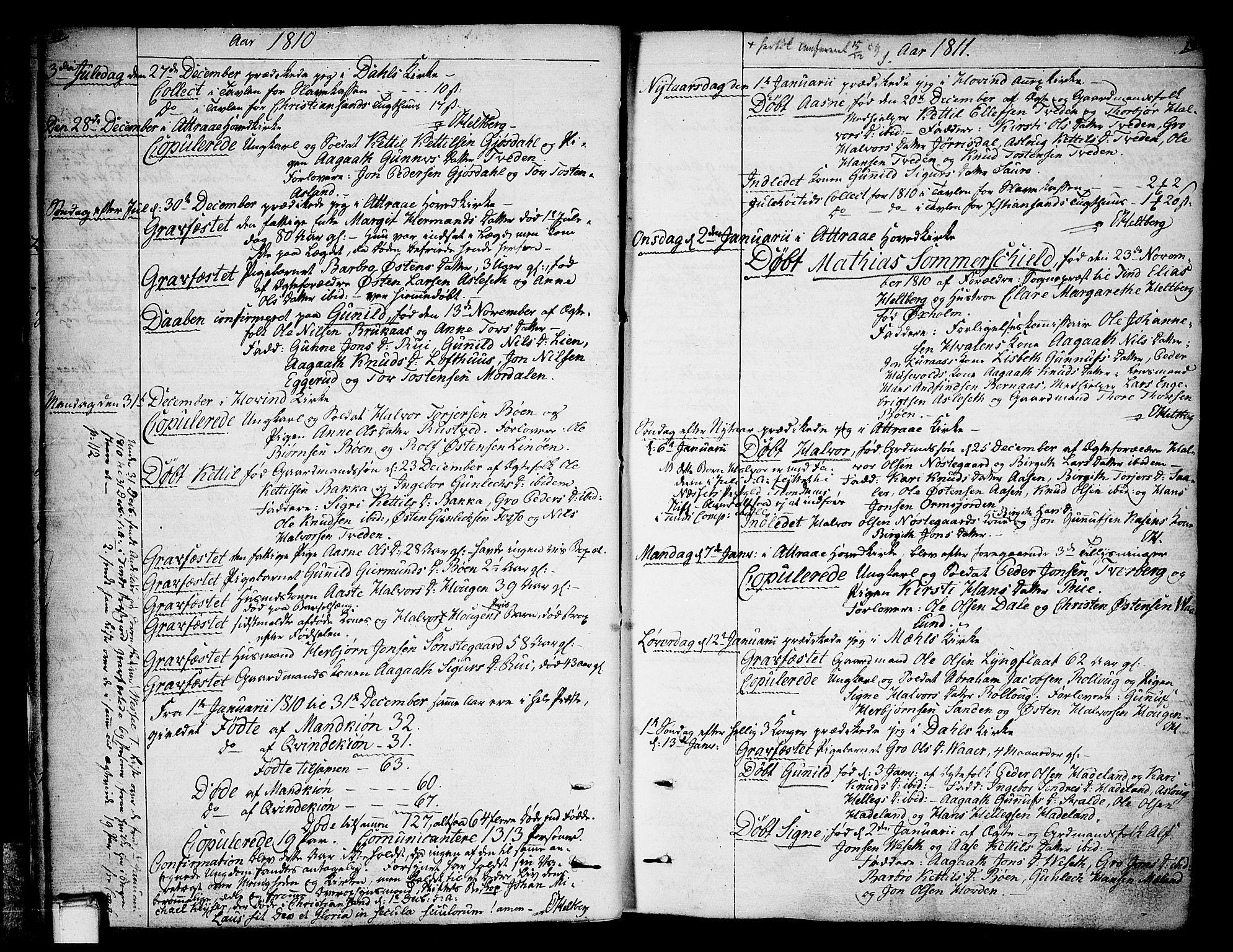 SAKO, Tinn kirkebøker, F/Fa/L0003: Ministerialbok nr. I 3, 1810-1814, s. 18-19