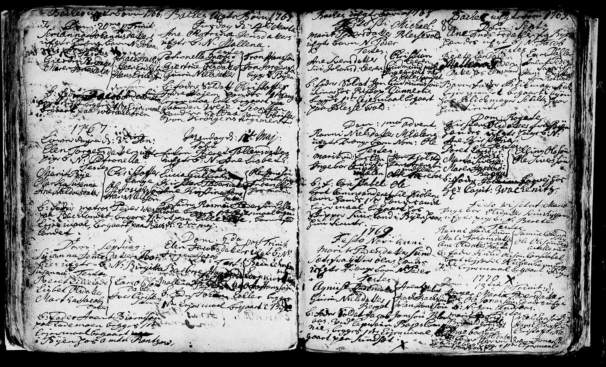 SAT, Ministerialprotokoller, klokkerbøker og fødselsregistre - Sør-Trøndelag, 604/L0218: Klokkerbok nr. 604C01, 1754-1819, s. 88