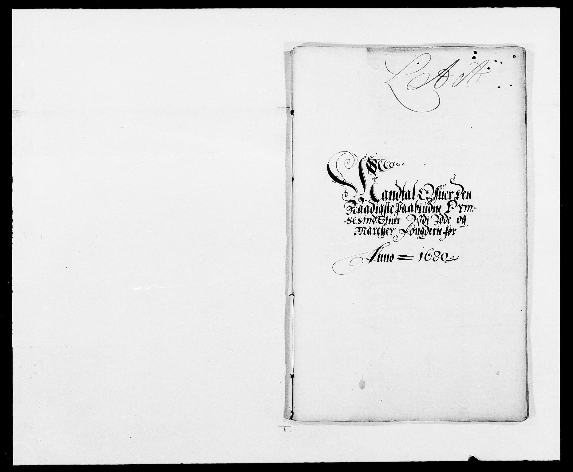 RA, Rentekammeret inntil 1814, Reviderte regnskaper, Fogderegnskap, R01/L0002: Fogderegnskap Idd og Marker, 1680-1681, s. 210