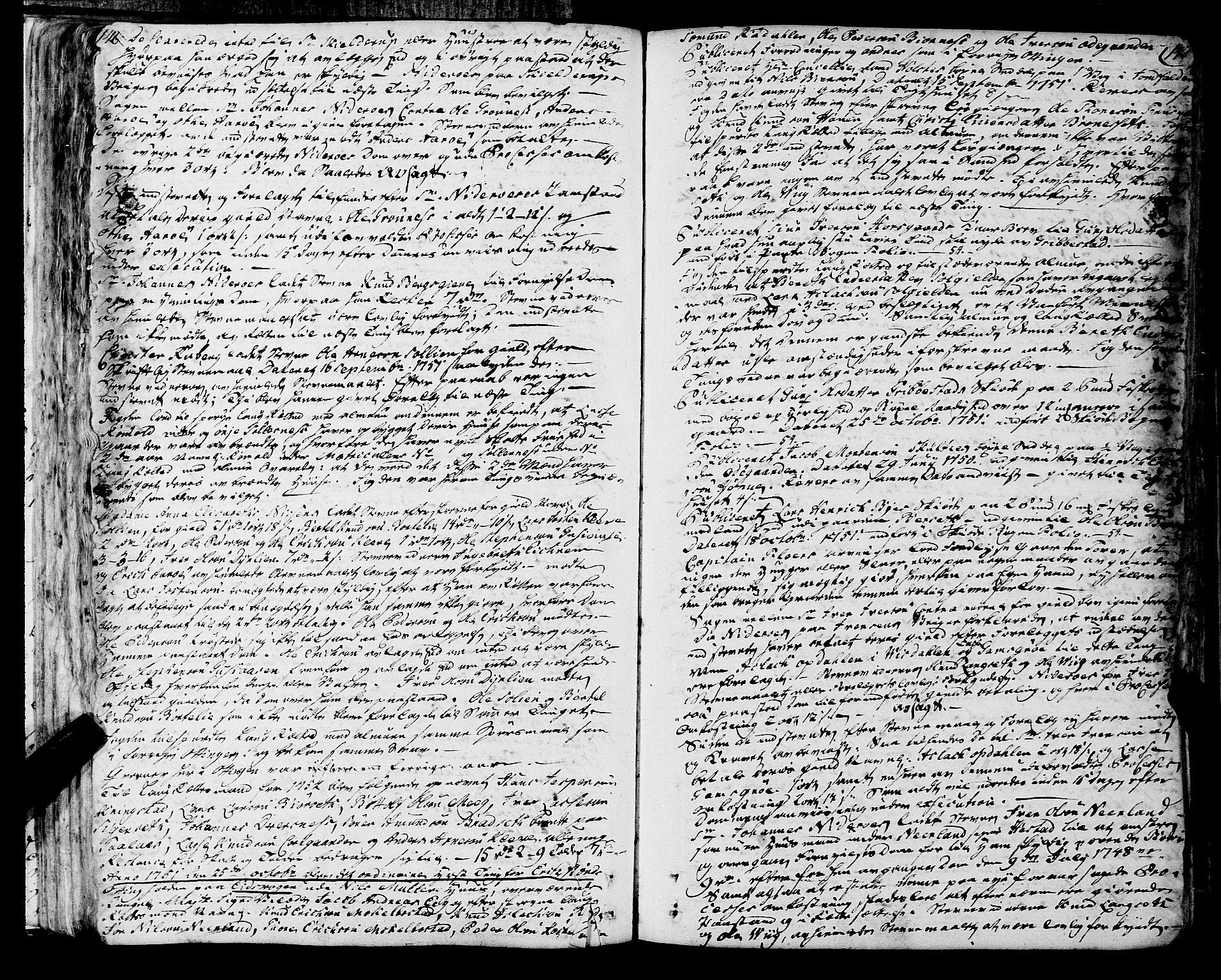 SAT, Romsdal sorenskriveri, 1/1A/L0013: Tingbok, 1749-1757, s. 146-147
