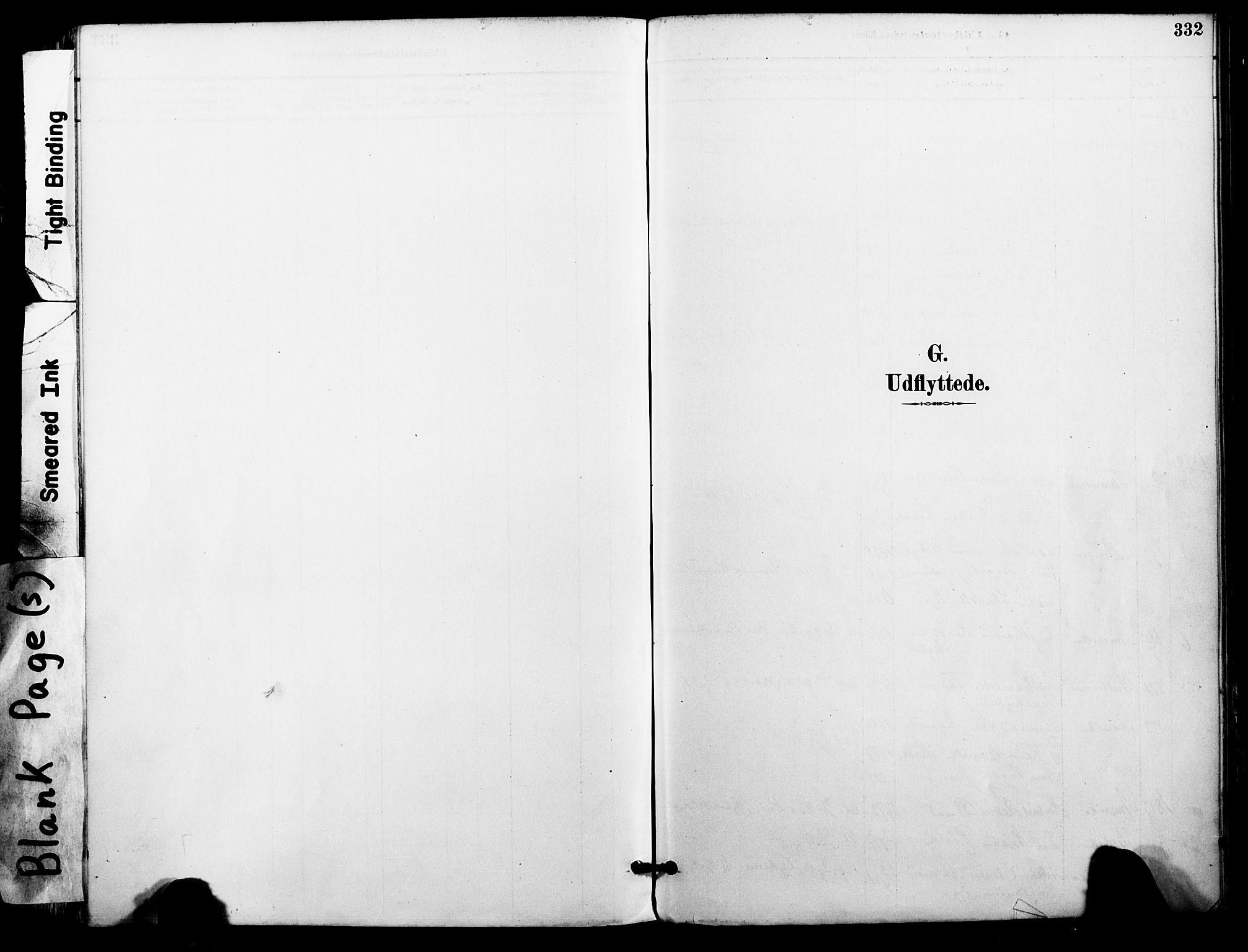 SAT, Ministerialprotokoller, klokkerbøker og fødselsregistre - Nordland, 801/L0010: Ministerialbok nr. 801A10, 1888-1899, s. 332
