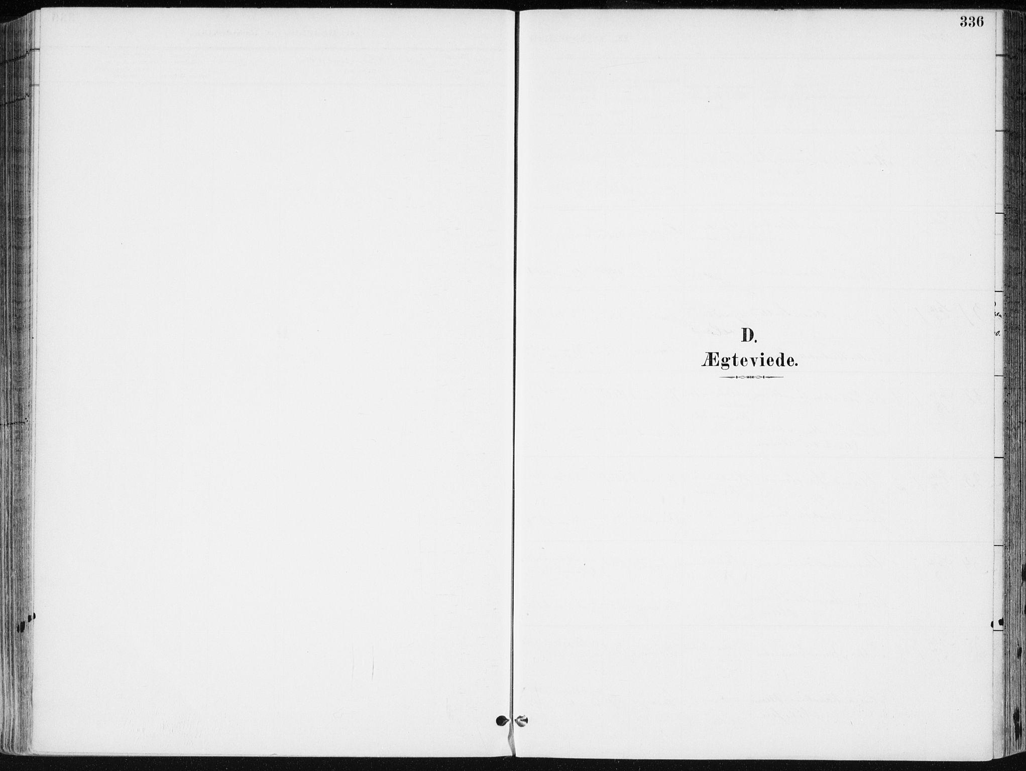 SAK, Kristiansand domprosti, F/Fa/L0019: Ministerialbok nr. A 18, 1890-1897, s. 336