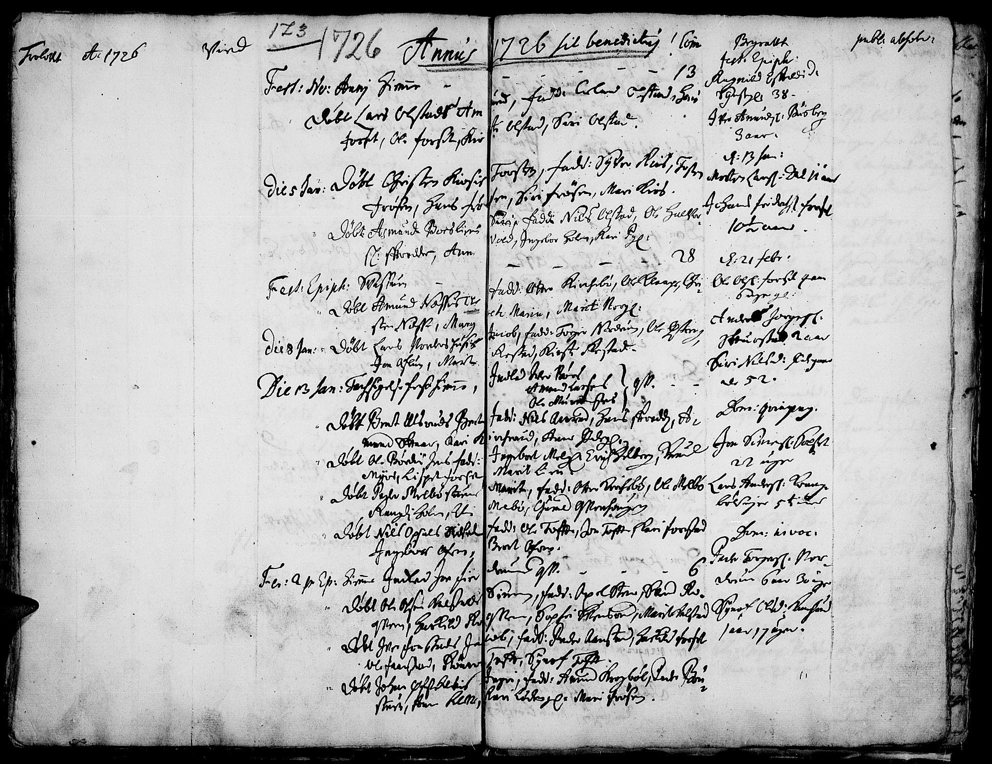 SAH, Gausdal prestekontor, Ministerialbok nr. 1, 1693-1728, s. 173