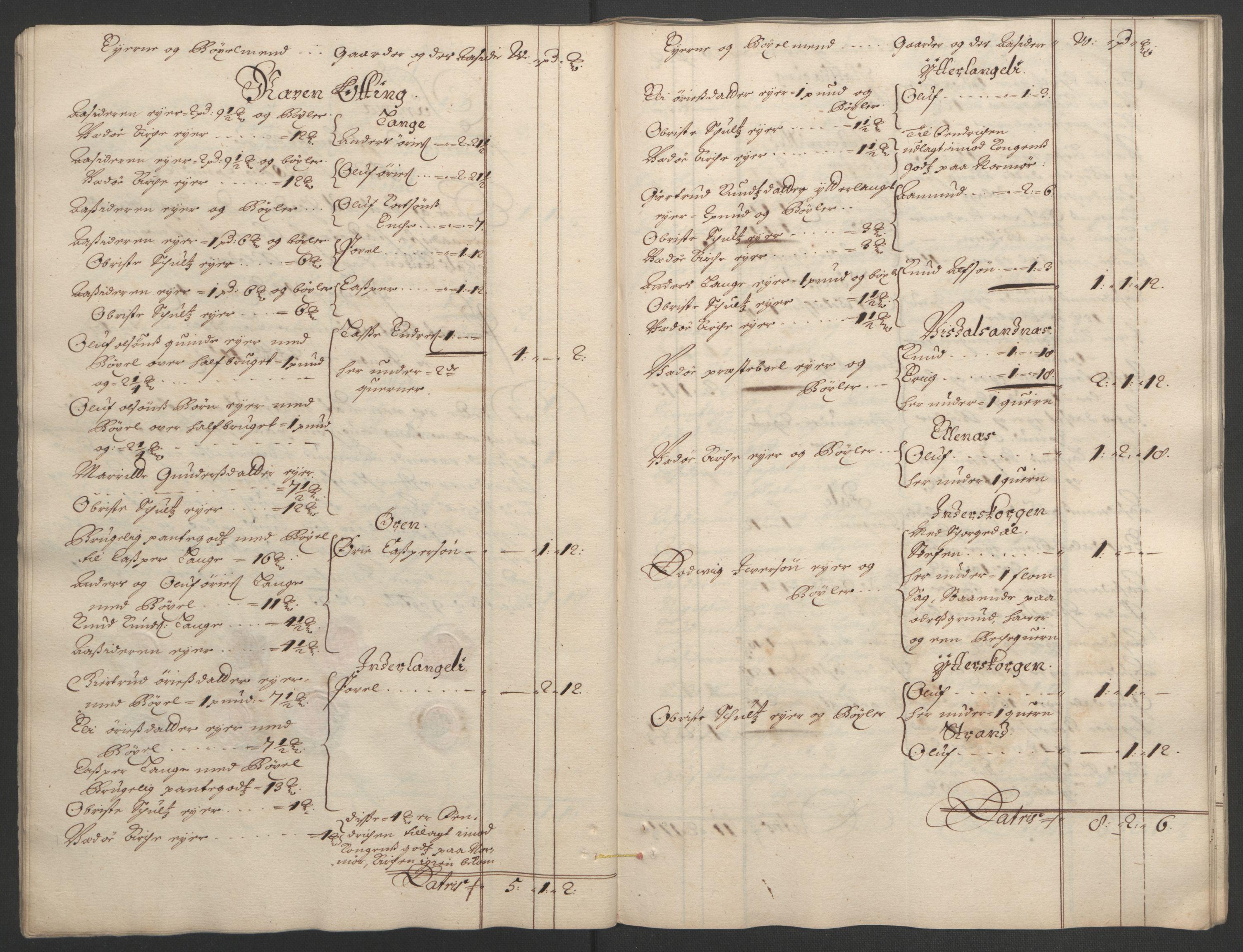 RA, Rentekammeret inntil 1814, Reviderte regnskaper, Fogderegnskap, R55/L3651: Fogderegnskap Romsdal, 1693-1694, s. 27