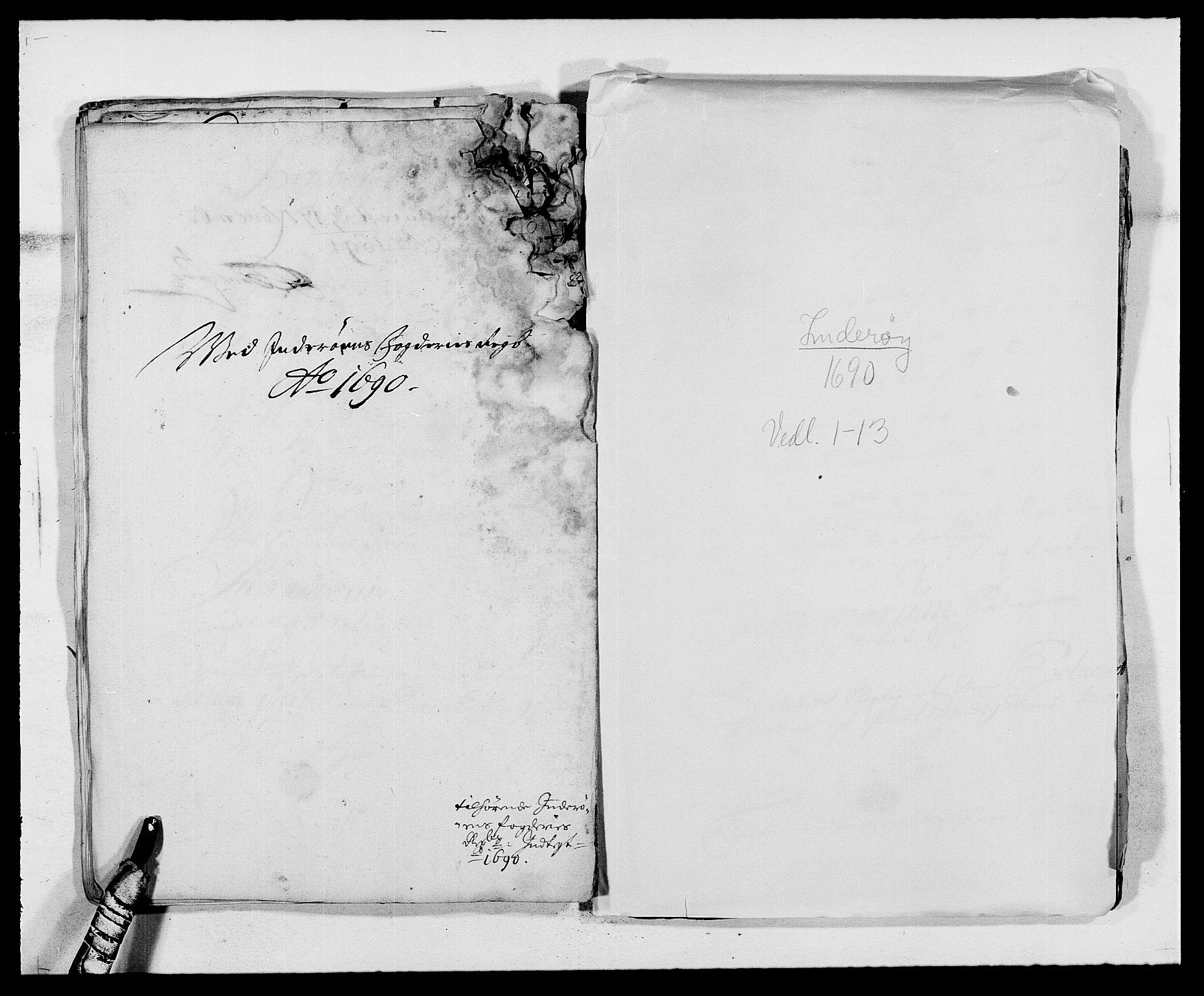 RA, Rentekammeret inntil 1814, Reviderte regnskaper, Fogderegnskap, R63/L4307: Fogderegnskap Inderøy, 1690-1691, s. 181