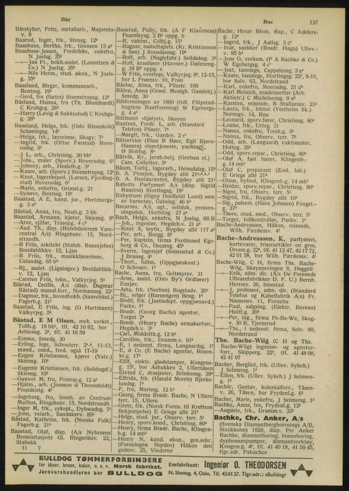 PUBL, Kristiania/Oslo adressebok, 1948, s. 137