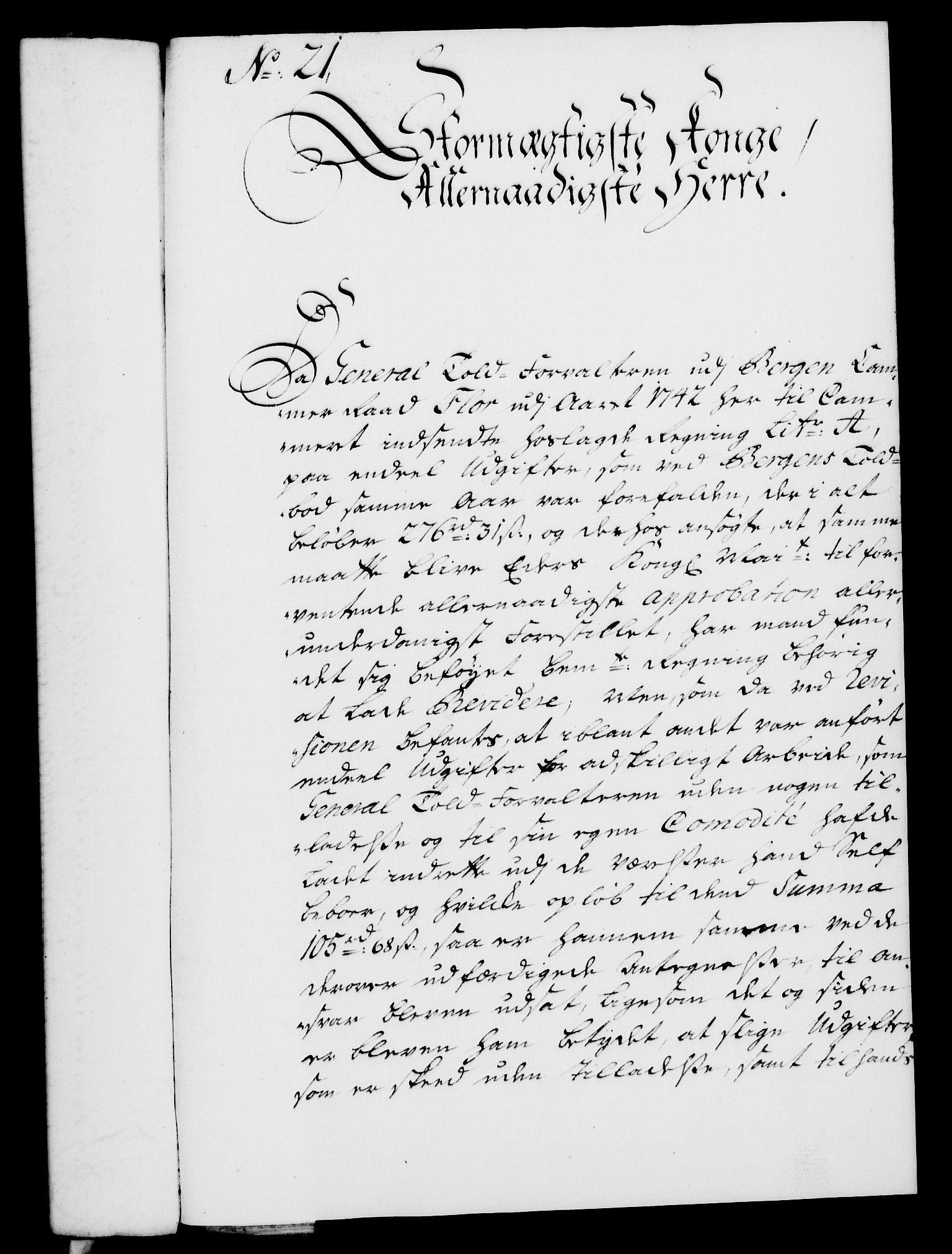 RA, Rentekammeret, Kammerkanselliet, G/Gf/Gfa/L0027: Norsk relasjons- og resolusjonsprotokoll (merket RK 52.27), 1744, s. 137