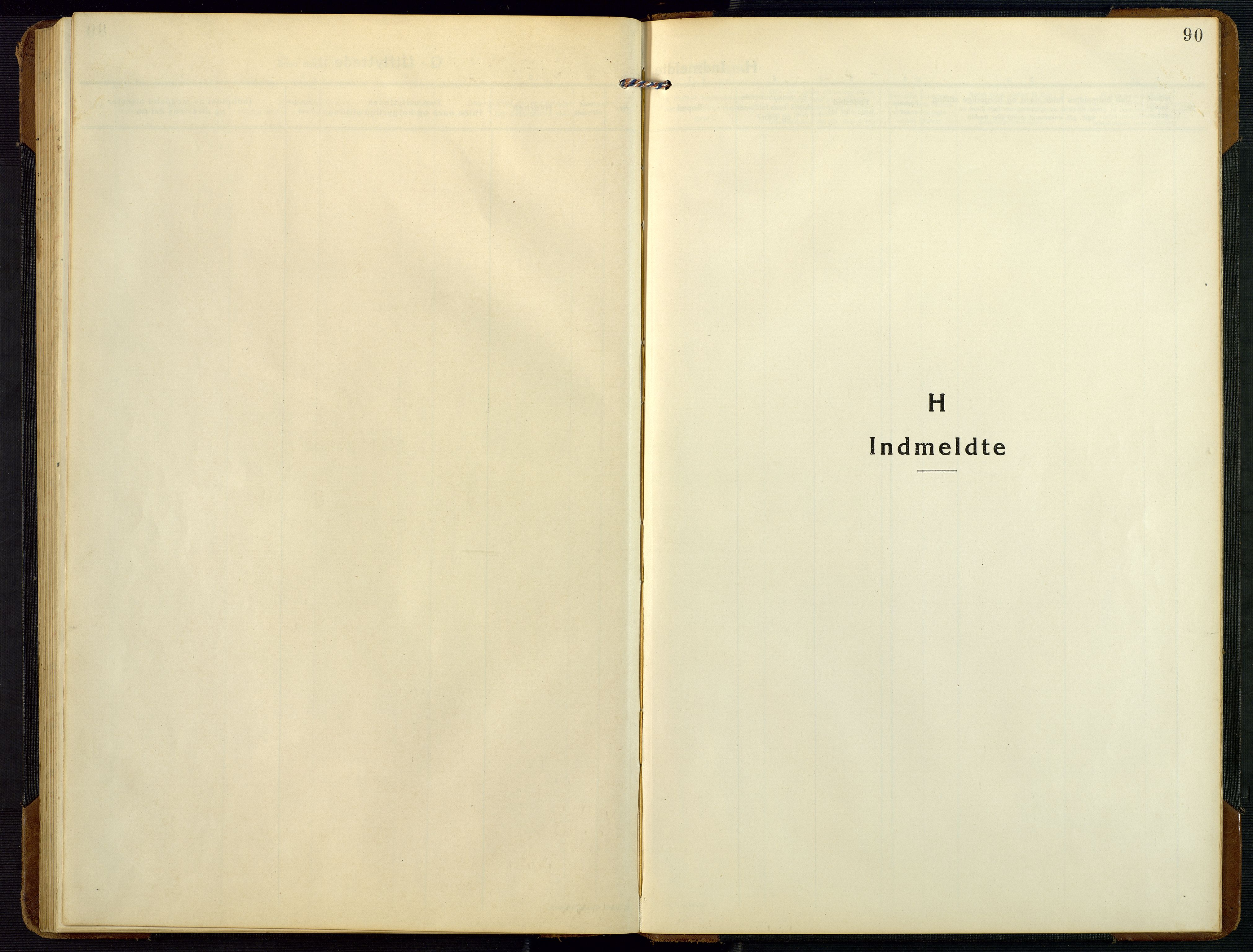 SAK, Bygland sokneprestkontor, F/Fb/Fbc/L0003: Klokkerbok nr. B 3, 1916-1975, s. 90