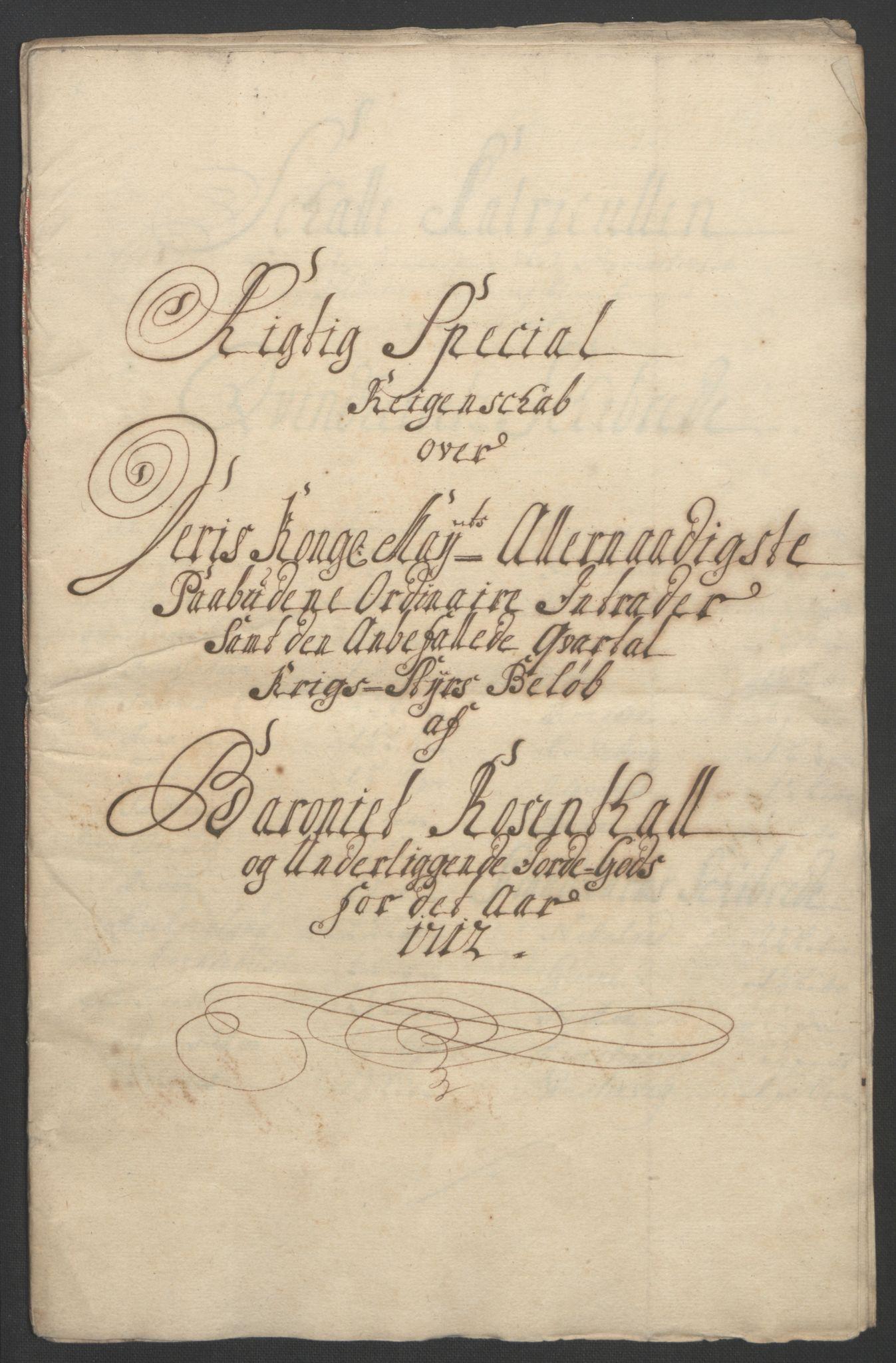 RA, Rentekammeret inntil 1814, Reviderte regnskaper, Fogderegnskap, R49/L3138: Fogderegnskap Rosendal Baroni, 1691-1714, s. 316