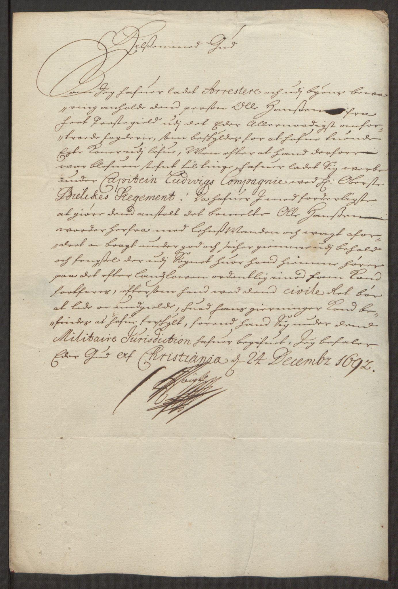 RA, Rentekammeret inntil 1814, Reviderte regnskaper, Fogderegnskap, R11/L0578: Fogderegnskap Nedre Romerike, 1693, s. 233
