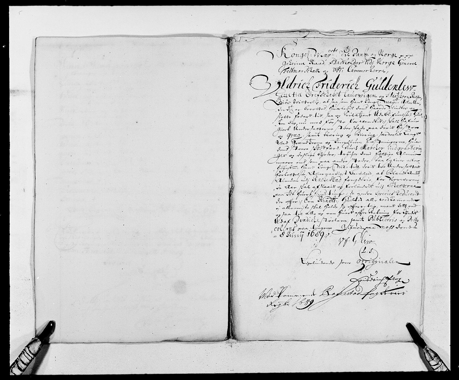 RA, Rentekammeret inntil 1814, Reviderte regnskaper, Fogderegnskap, R05/L0277: Fogderegnskap Rakkestad, 1689-1690, s. 348