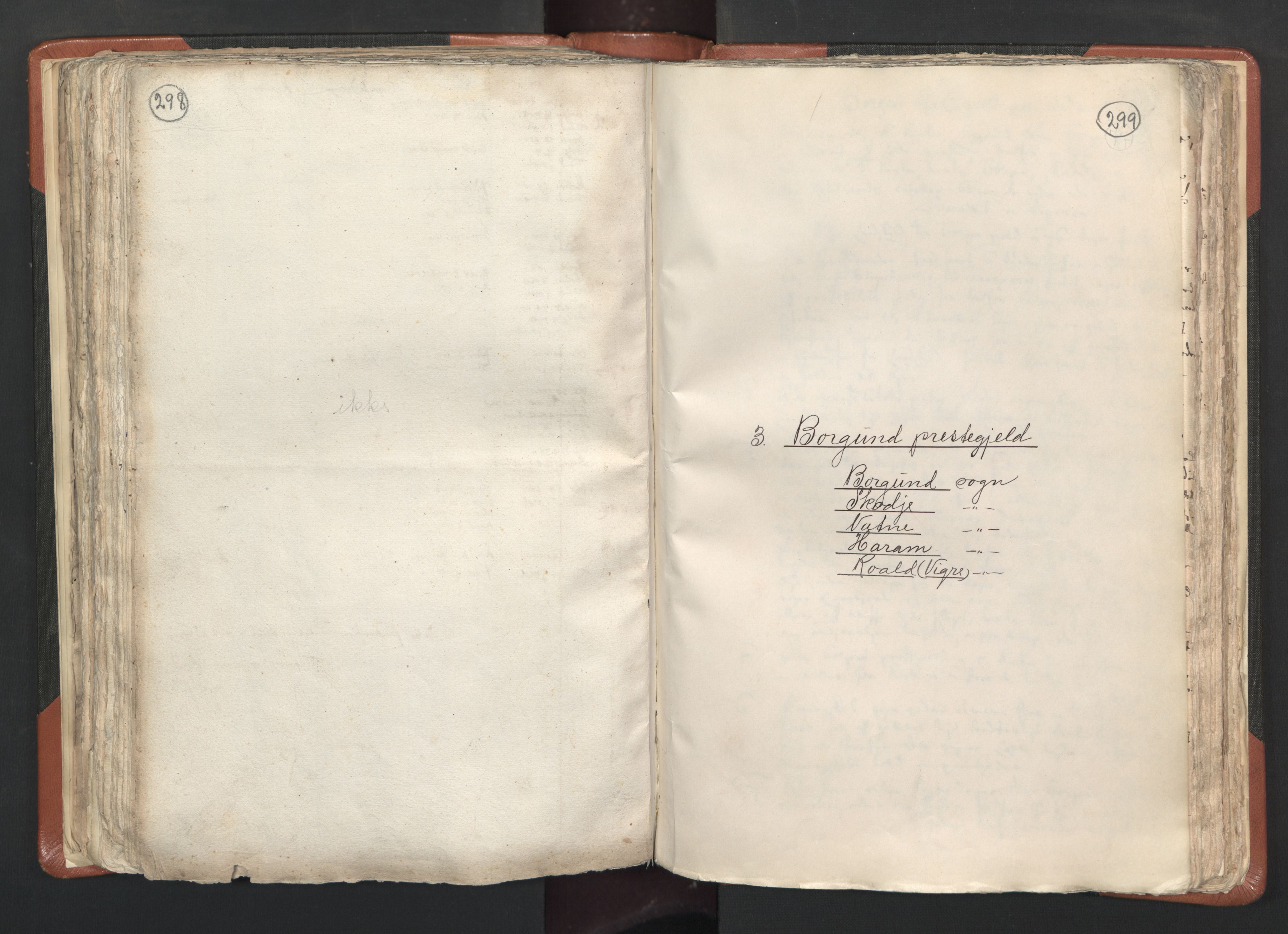 RA, Sogneprestenes manntall 1664-1666, nr. 26: Sunnmøre prosti, 1664-1666, s. 298-299