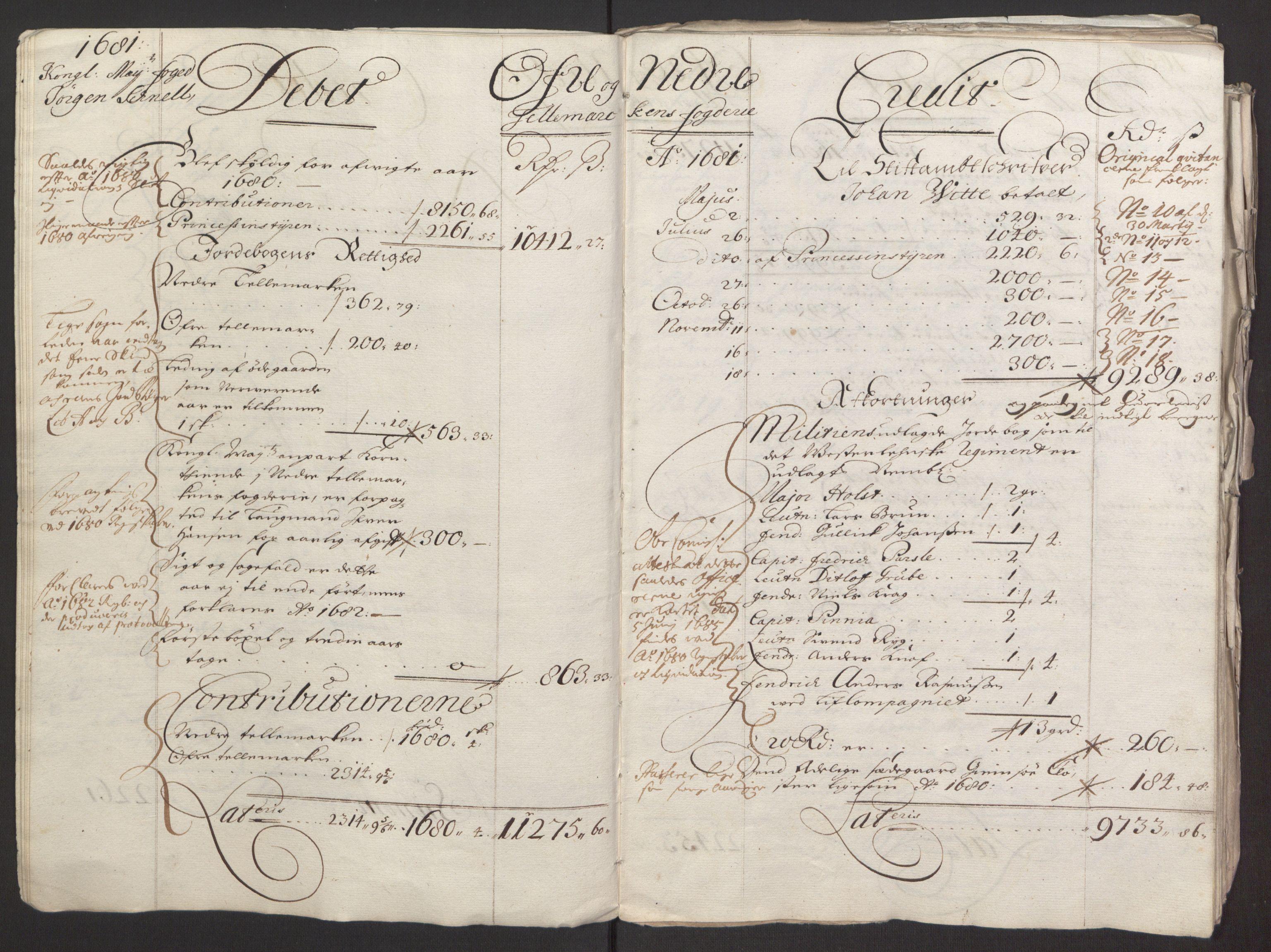 RA, Rentekammeret inntil 1814, Reviderte regnskaper, Fogderegnskap, R35/L2075: Fogderegnskap Øvre og Nedre Telemark, 1680-1684, s. 9