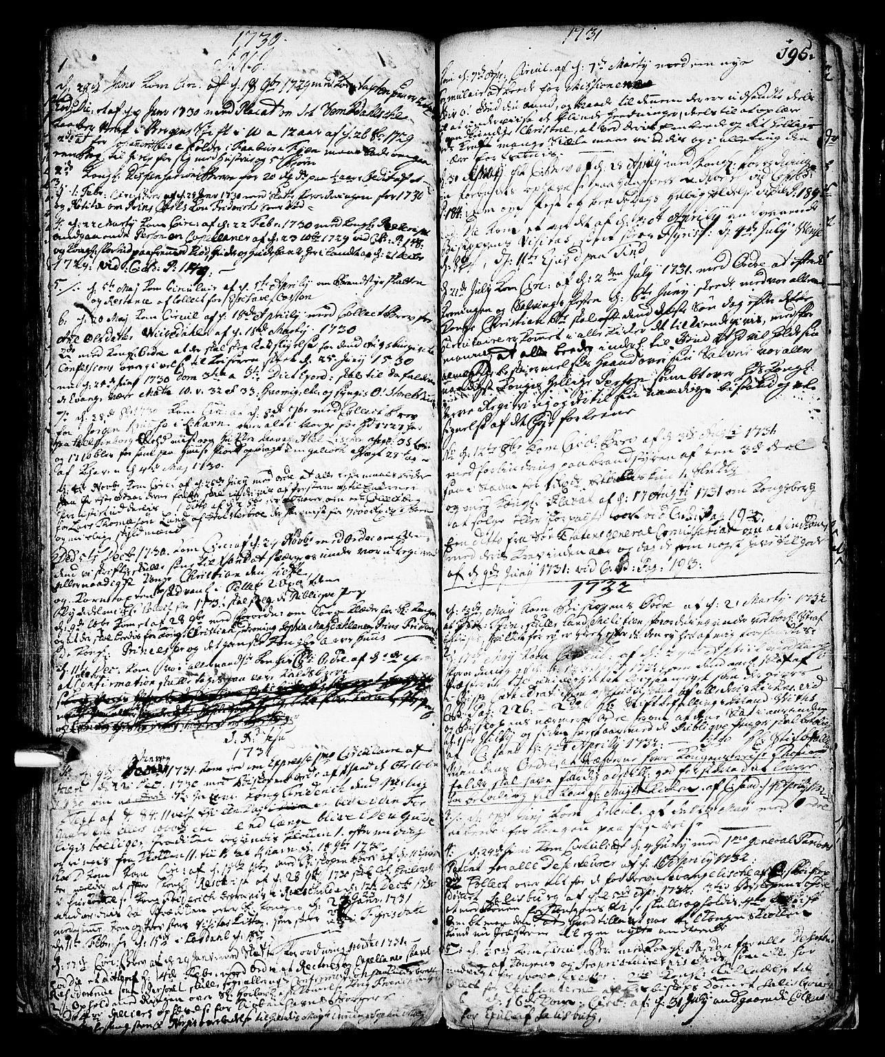 SAKO, Vinje kirkebøker, F/Fa/L0001: Ministerialbok nr. I 1, 1717-1766, s. 195
