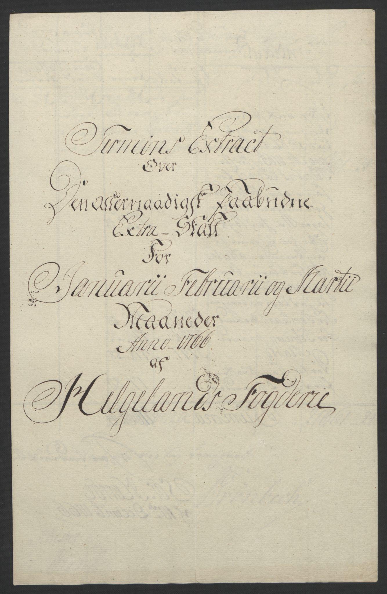 RA, Rentekammeret inntil 1814, Reviderte regnskaper, Fogderegnskap, R65/L4573: Ekstraskatten Helgeland, 1762-1772, s. 122