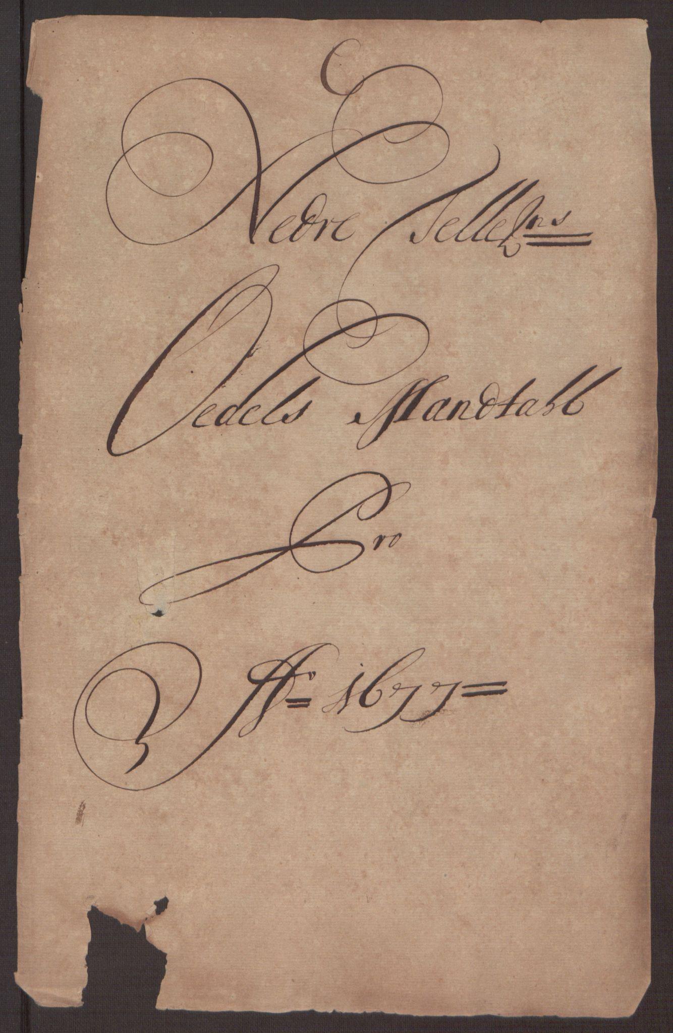 RA, Rentekammeret inntil 1814, Reviderte regnskaper, Fogderegnskap, R35/L2068: Fogderegnskap Øvre og Nedre Telemark, 1677, s. 81