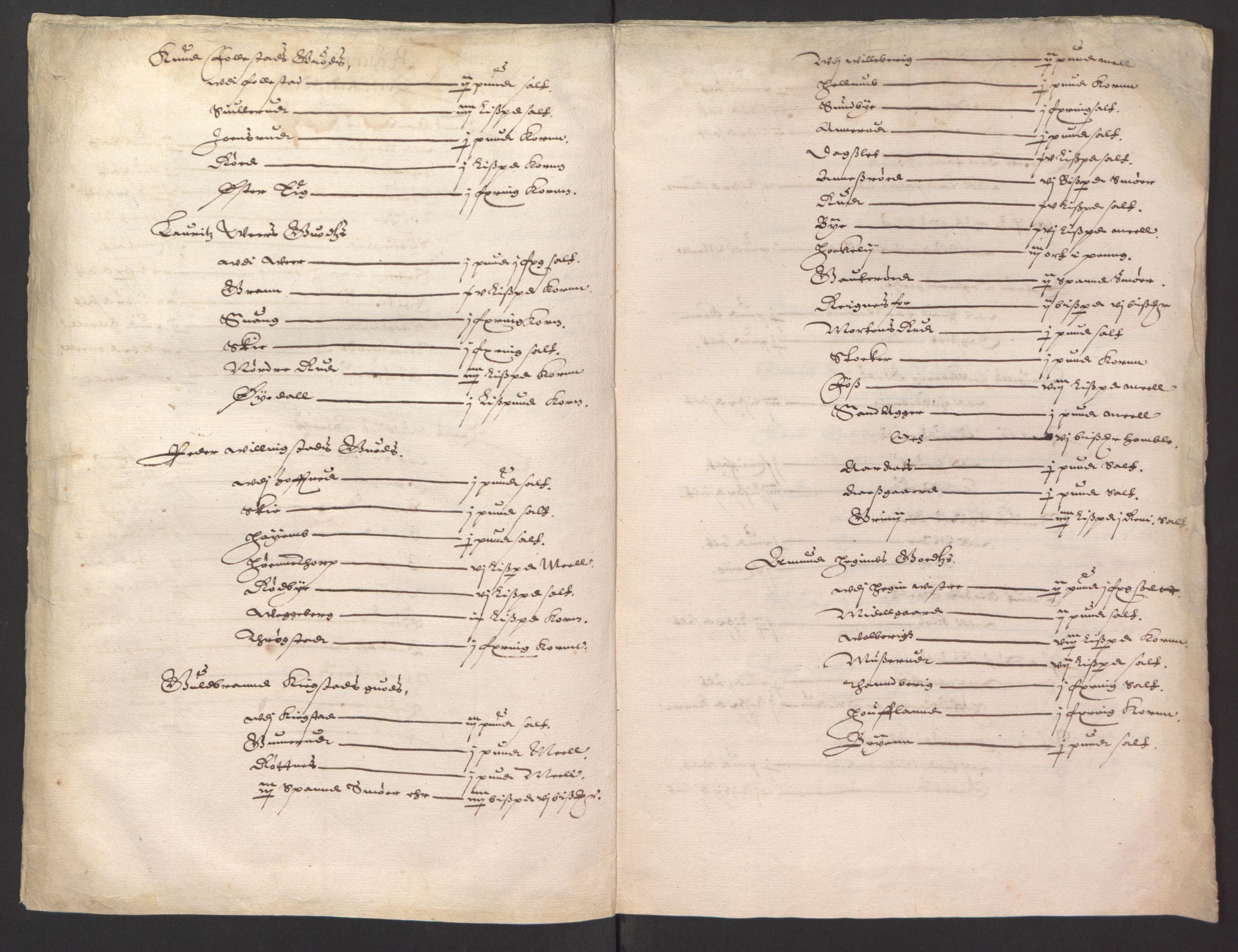 RA, Stattholderembetet 1572-1771, Ek/L0008: Jordebøker til utlikning av rosstjeneste 1624-1626:, 1624-1626, s. 311