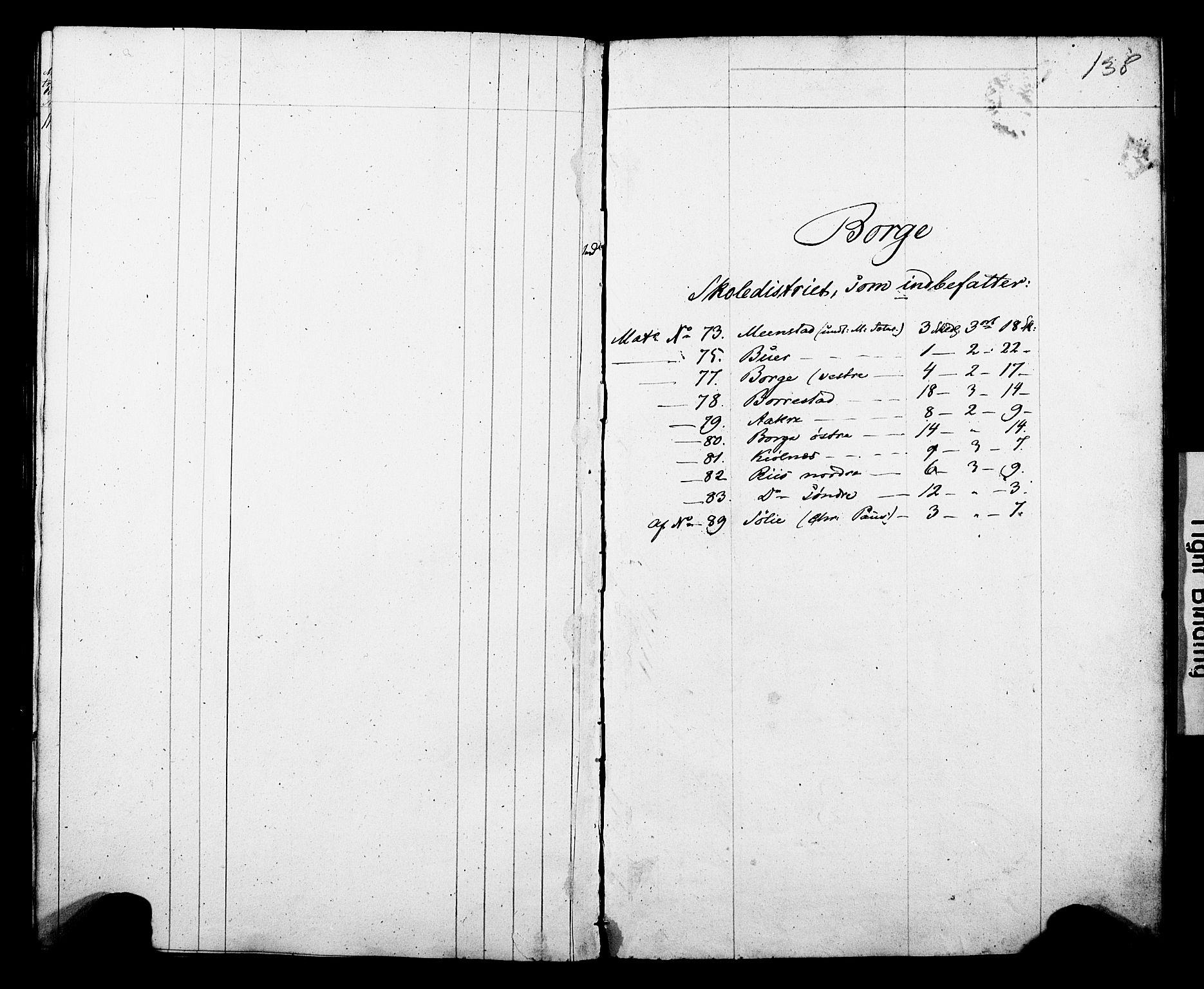 Folketelling 1845 for 0812P Gjerpen prestegjeld, 1845, s. 138