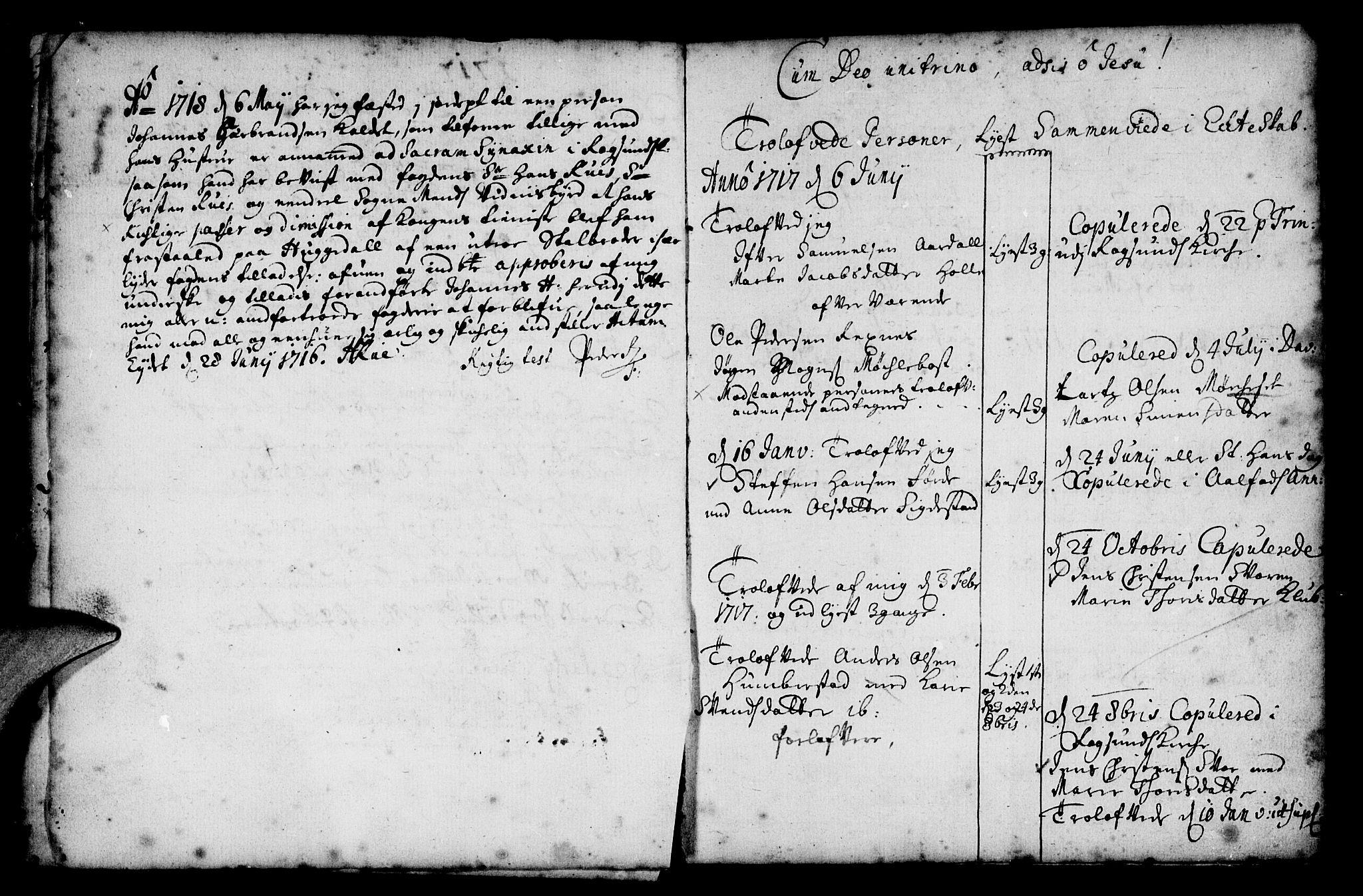 SAB, Davik Sokneprestembete, Ministerialbok nr. A 1, 1710-1742, s. 11
