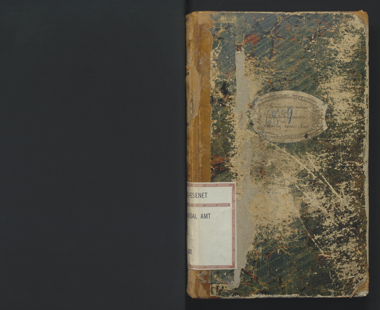 SAK, Utskiftningsformannen i Lister og Mandal amt, F/Fa/Faa/L0023: Utskiftningsprotokoll med register nr 23, 1880-1882