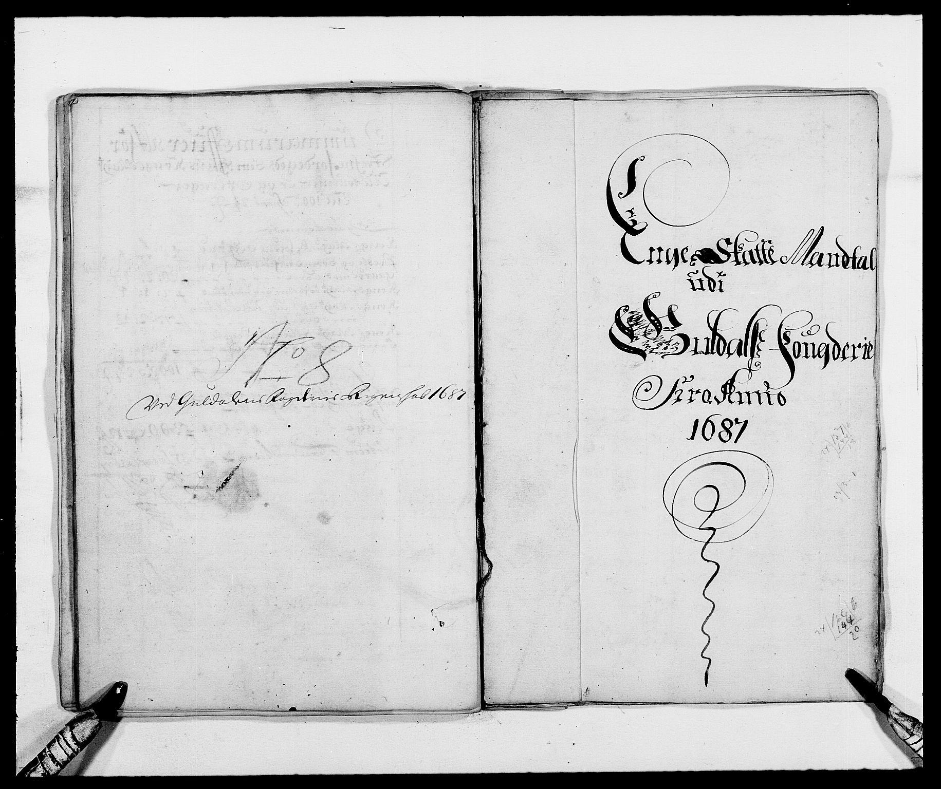 RA, Rentekammeret inntil 1814, Reviderte regnskaper, Fogderegnskap, R59/L3939: Fogderegnskap Gauldal, 1687-1688, s. 40
