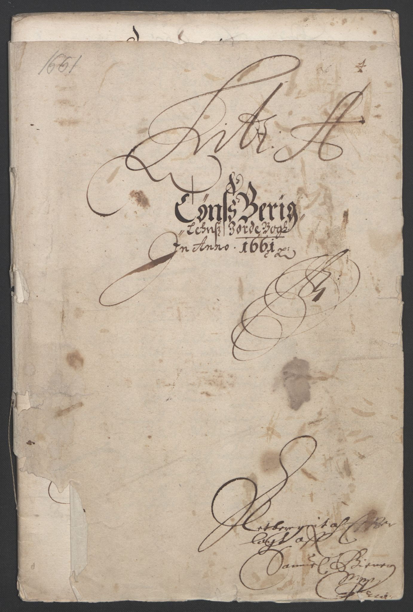 RA, Rentekammeret inntil 1814, Reviderte regnskaper, Fogderegnskap, R32/L1838: Fogderegnskap Jarlsberg grevskap, 1661-1663, s. 11