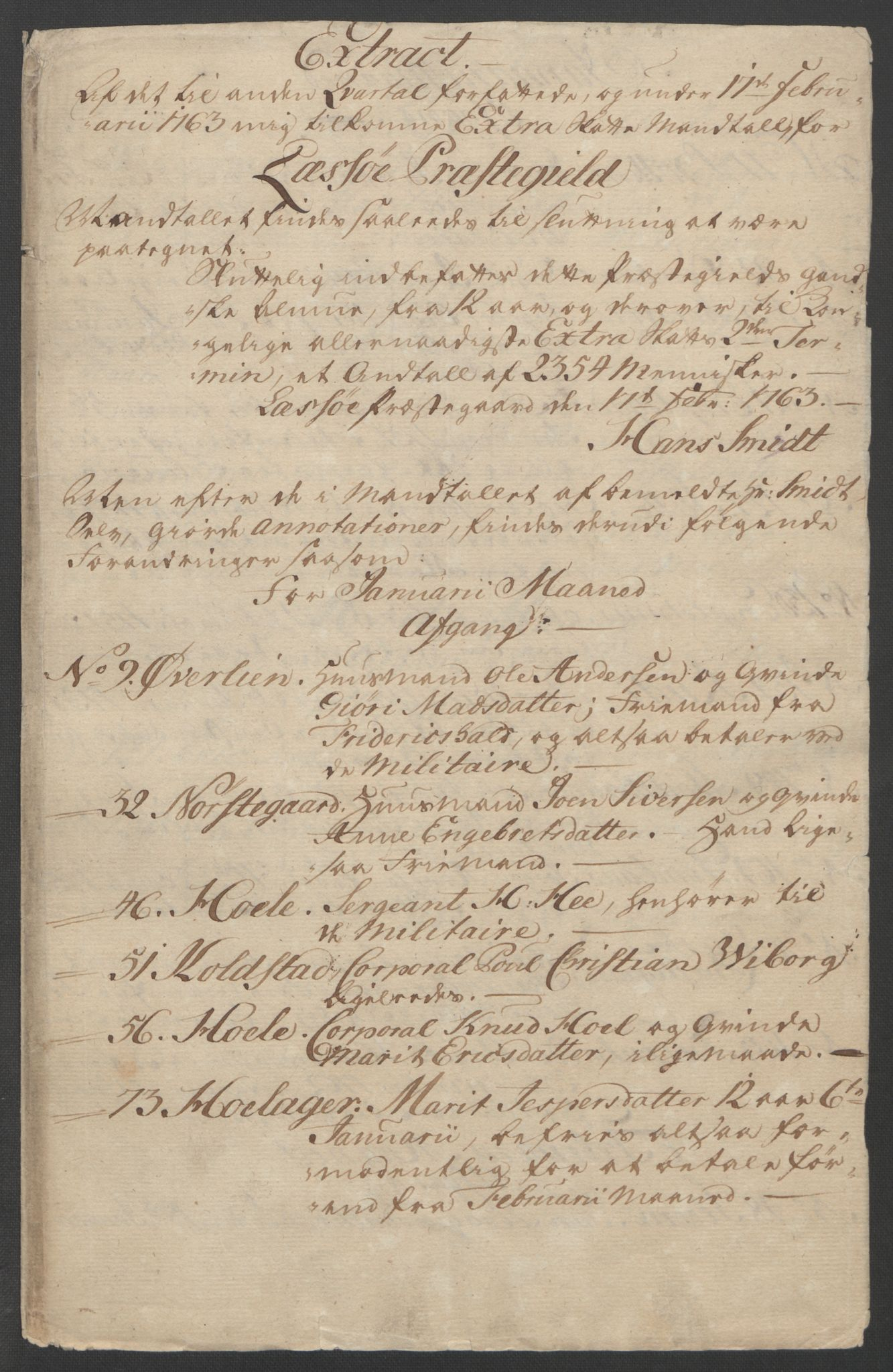 RA, Rentekammeret inntil 1814, Reviderte regnskaper, Fogderegnskap, R17/L1266: Ekstraskatten Gudbrandsdal, 1762-1766, s. 240