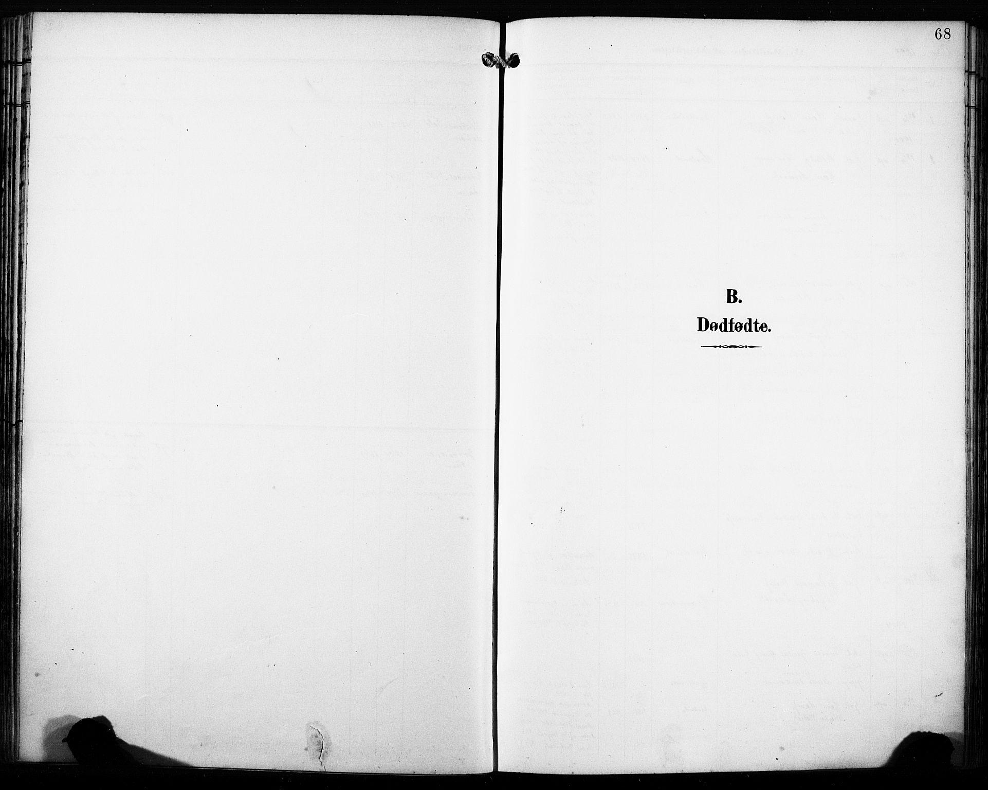 SAB, Fana Sokneprestembete, H/Haa/Haab/L0003: Ministerialbok nr. B 3, 1898-1907, s. 68