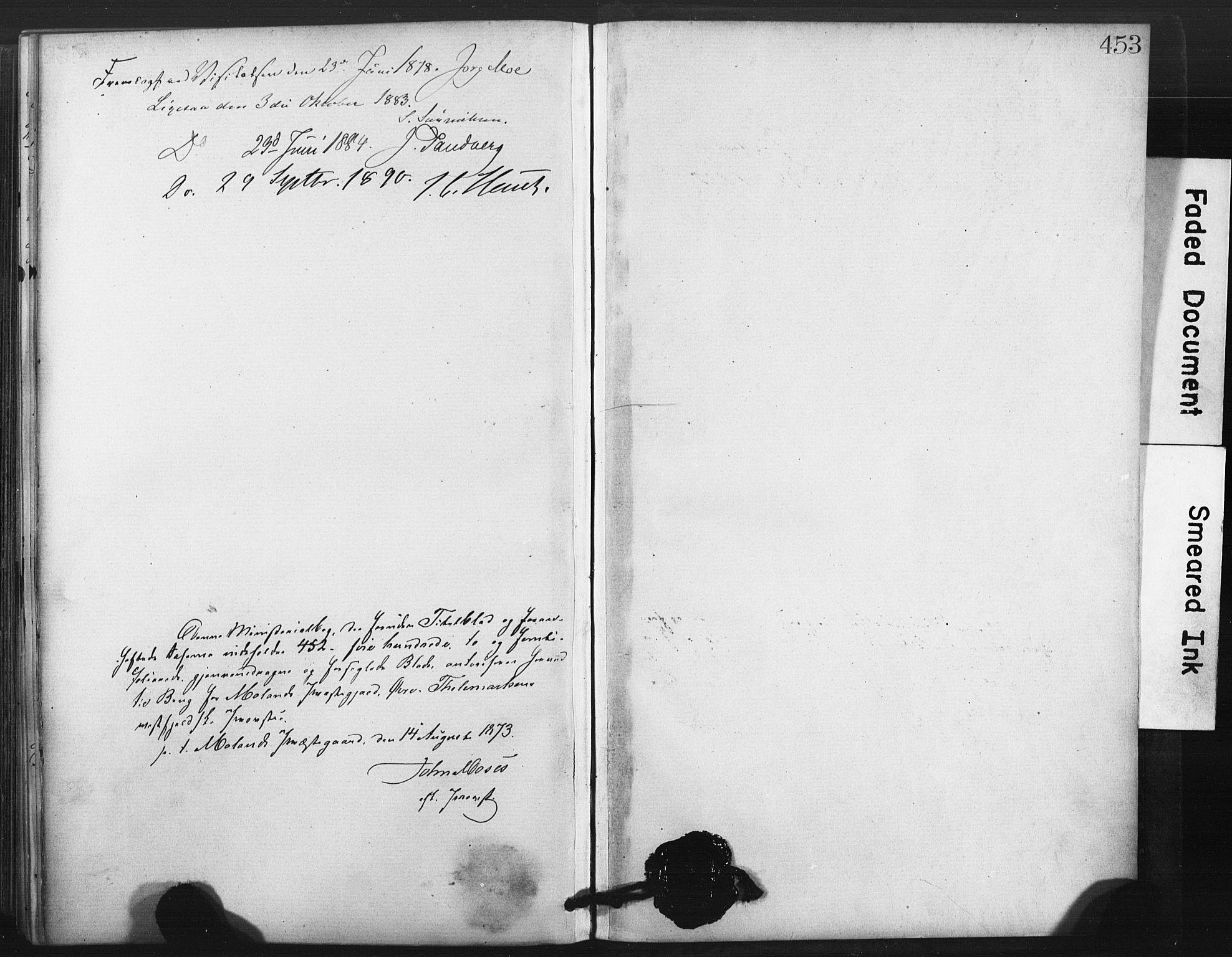 SAKO, Fyresdal kirkebøker, F/Fa/L0006: Ministerialbok nr. I 6, 1872-1886, s. 453