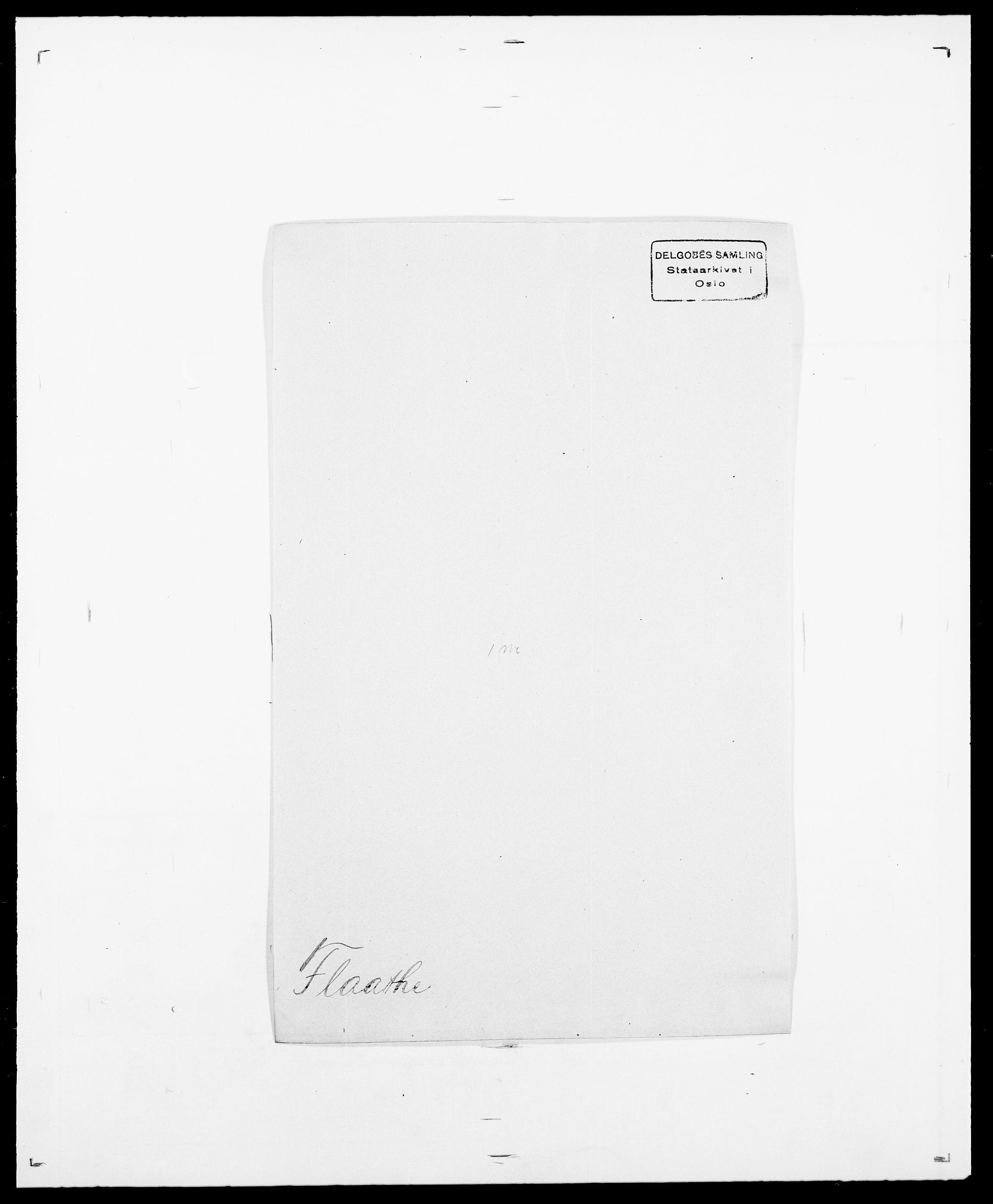 SAO, Delgobe, Charles Antoine - samling, D/Da/L0011: Fahlander - Flood, Flod, s. 562