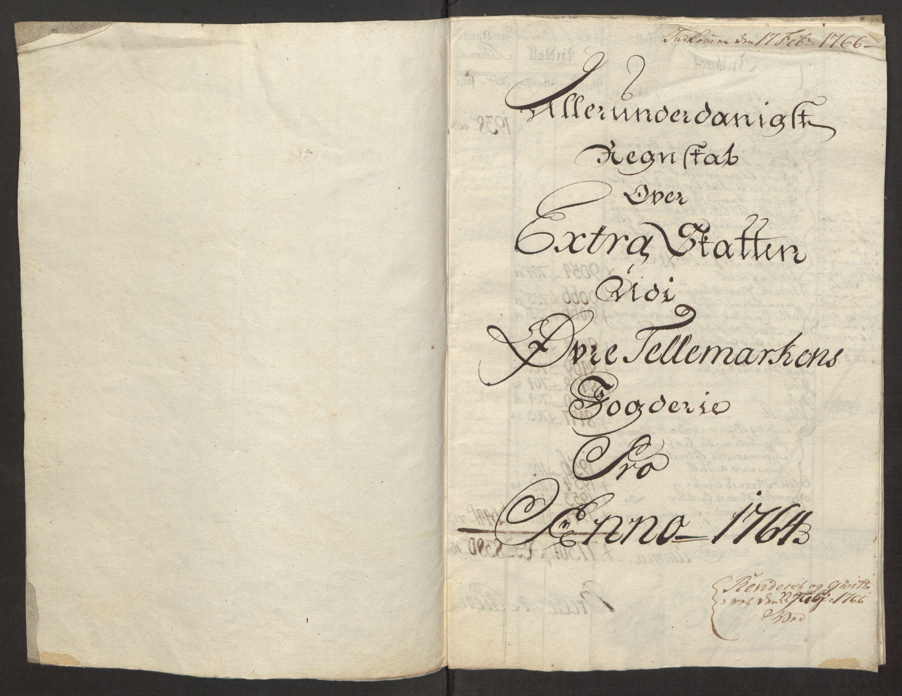 RA, Rentekammeret inntil 1814, Reviderte regnskaper, Fogderegnskap, R38/L2293: Ekstraskatten Øvre Telemark, 1762-1770, s. 39