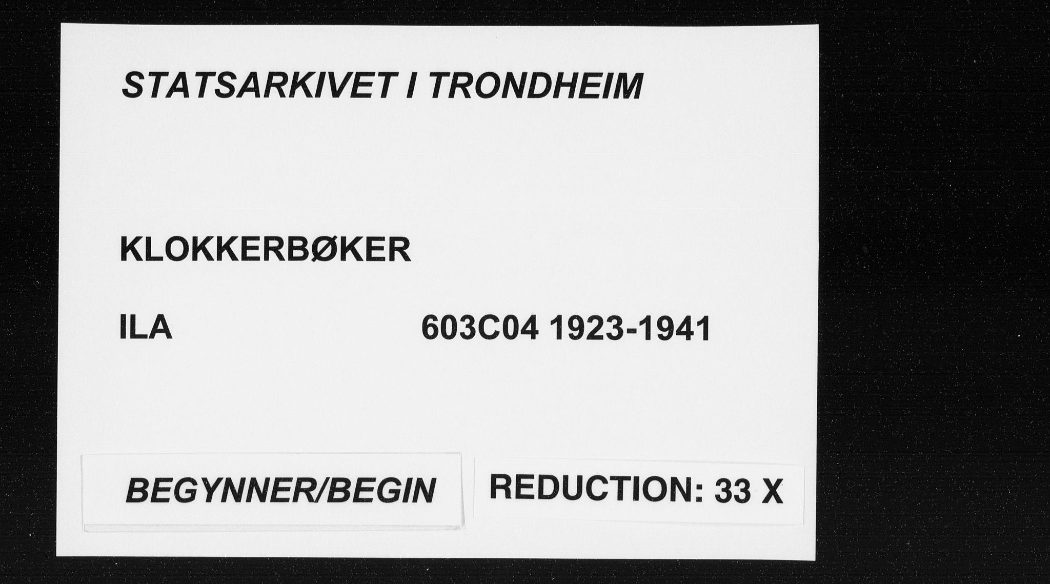 SAT, Ministerialprotokoller, klokkerbøker og fødselsregistre - Sør-Trøndelag, 603/L0176: Klokkerbok nr. 603C04, 1923-1941