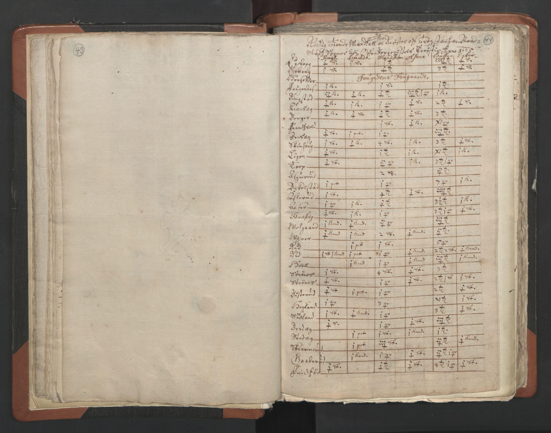 RA, Sogneprestenes manntall 1664-1666, nr. 2: Øvre Borgesyssel prosti, 1664-1666, s. 43-44