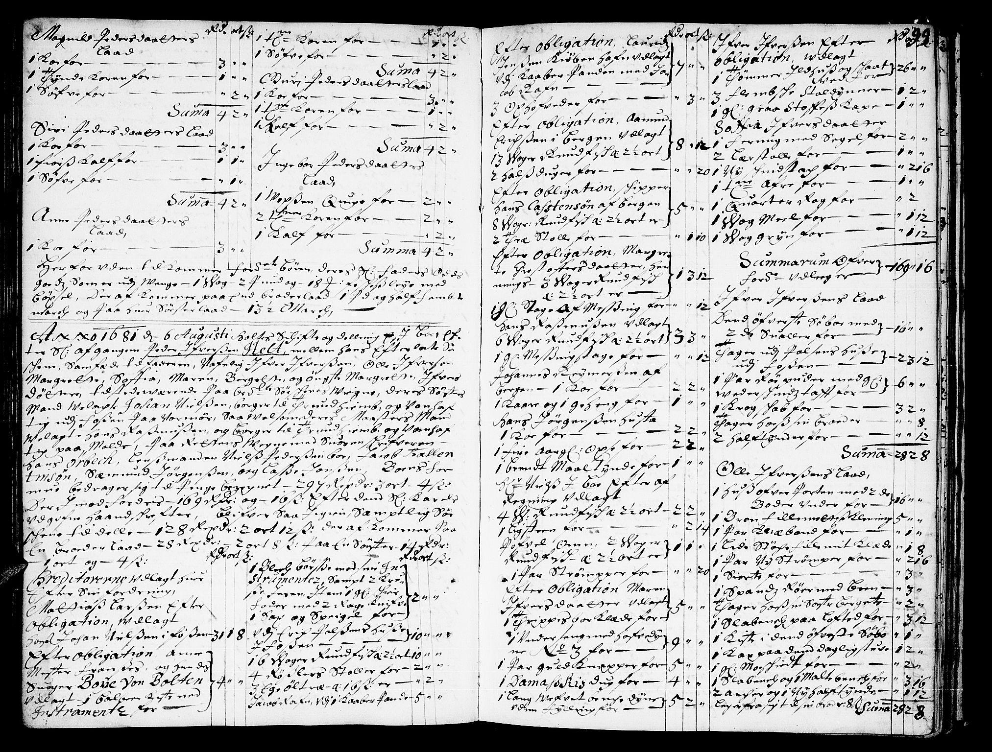 SAT, Romsdal sorenskriveri, 3/3A/L0001: Skifteprotokoll, 1677-1683, s. 98b-99a